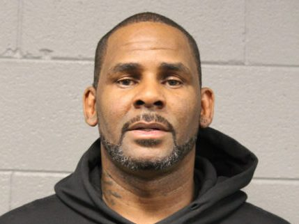 R. Kelly's arrest mugshot
