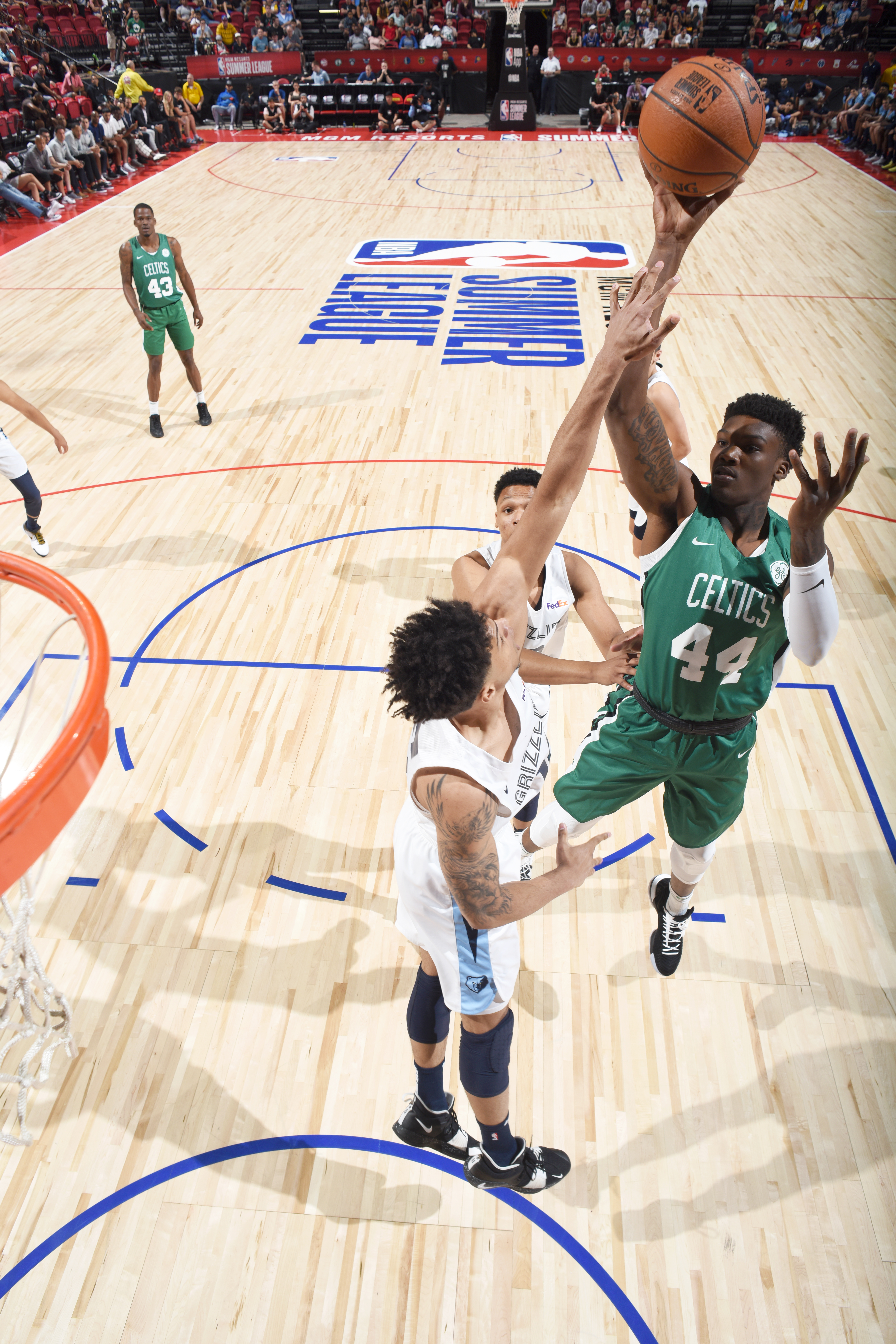 2019 Las Vegas Summer League - Boston Celtics v Memphis Grizzlies