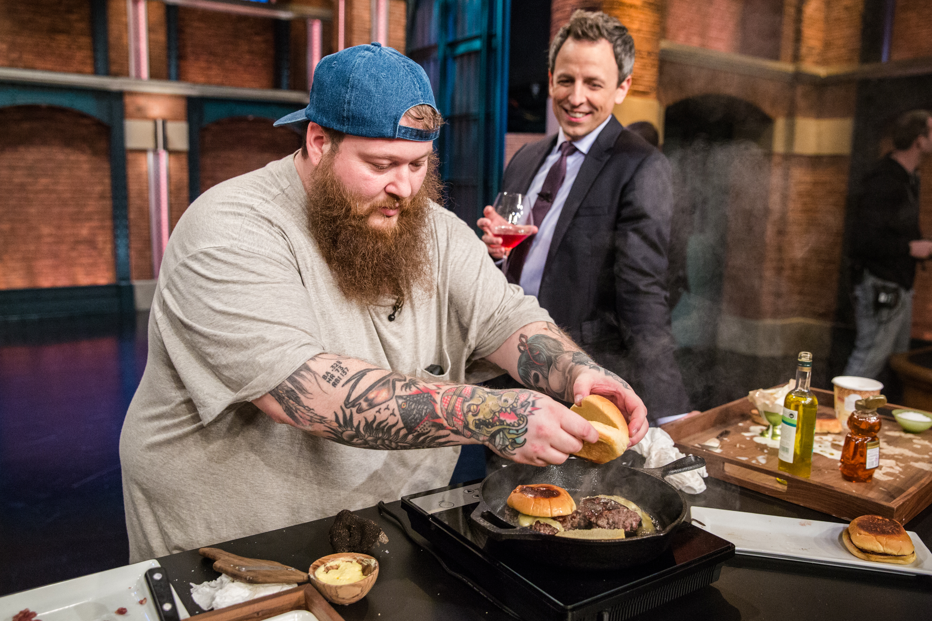 Action Bronson Rejects London's Celebrity Bait for Food That Is Actually Good