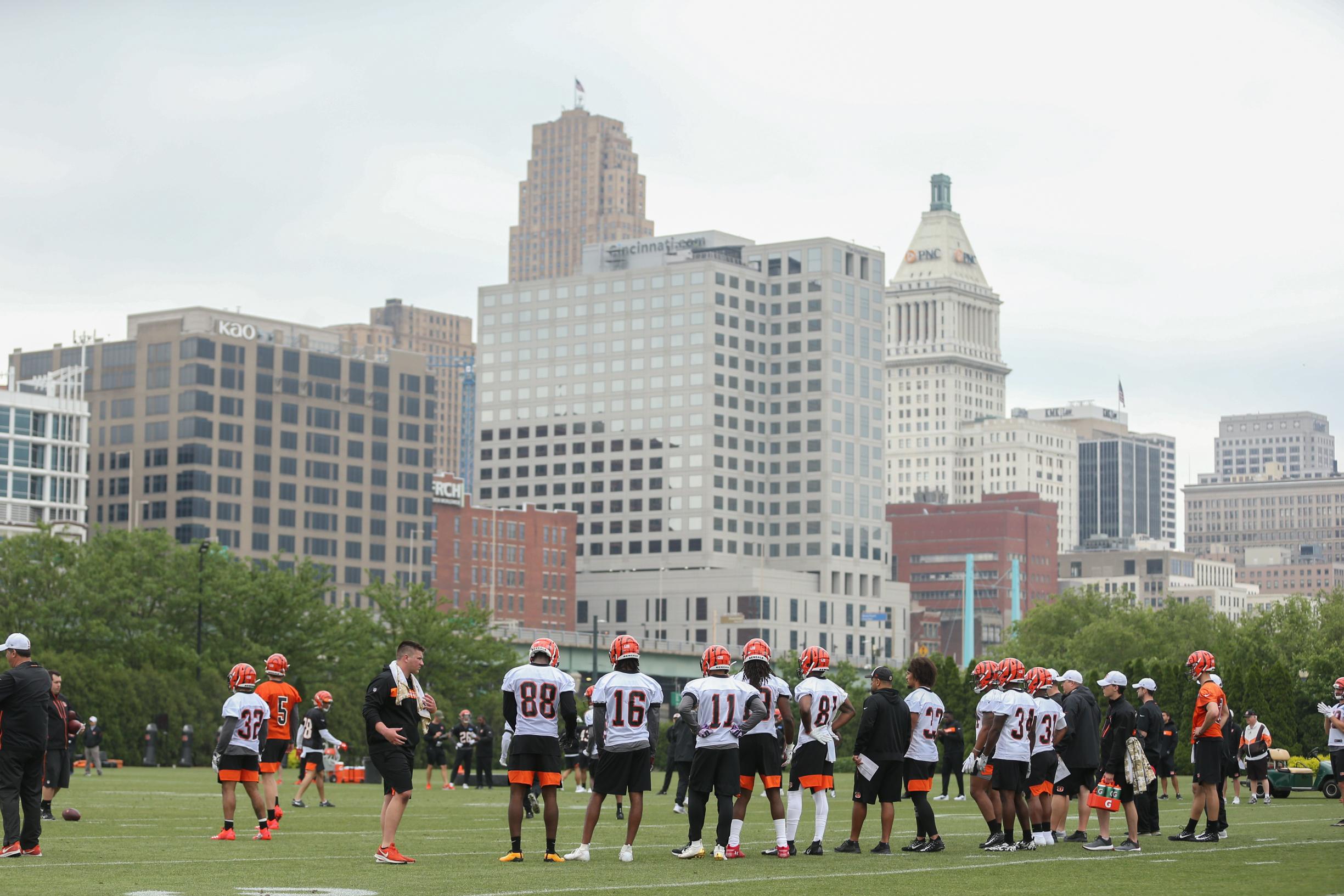 NFL: MAY 10 Bengals Rookie Mini-Camp
