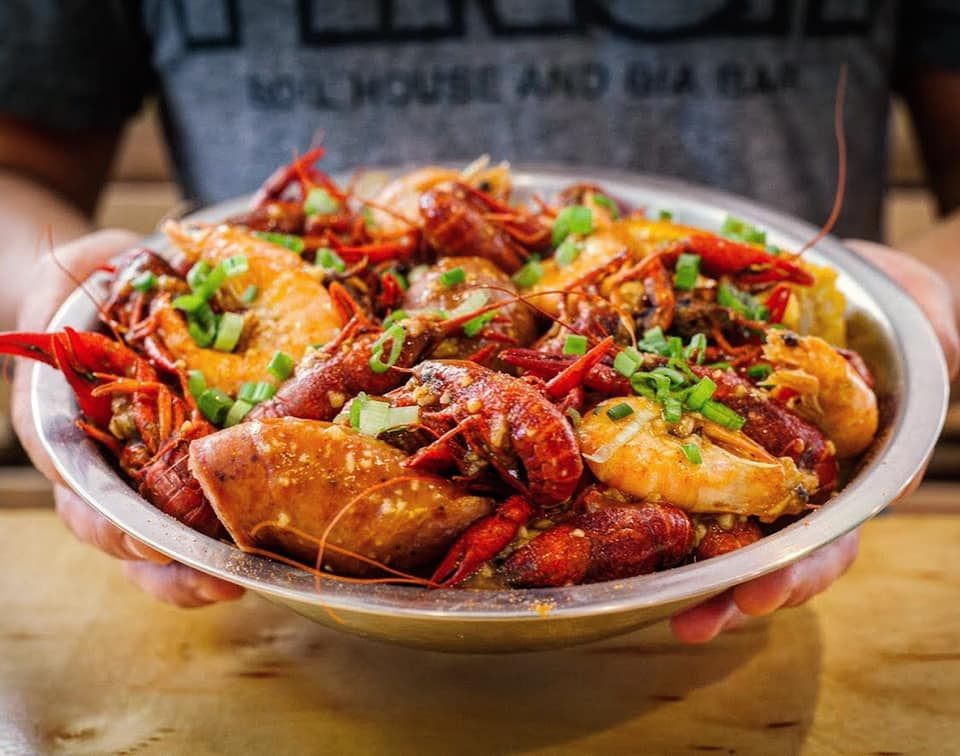 Crawfish from Pinch Boil House