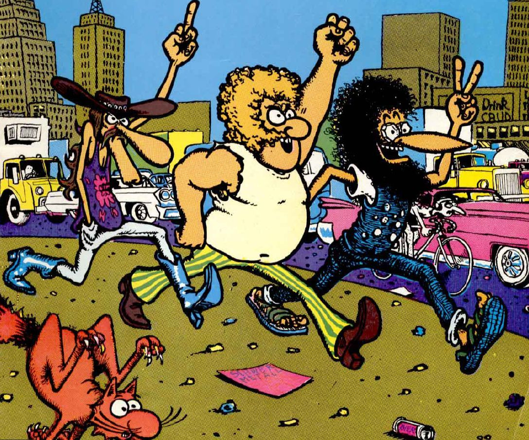 Workaholics creators to turn underground comic The Fabulous Furry Freak Brothers into an animated series
