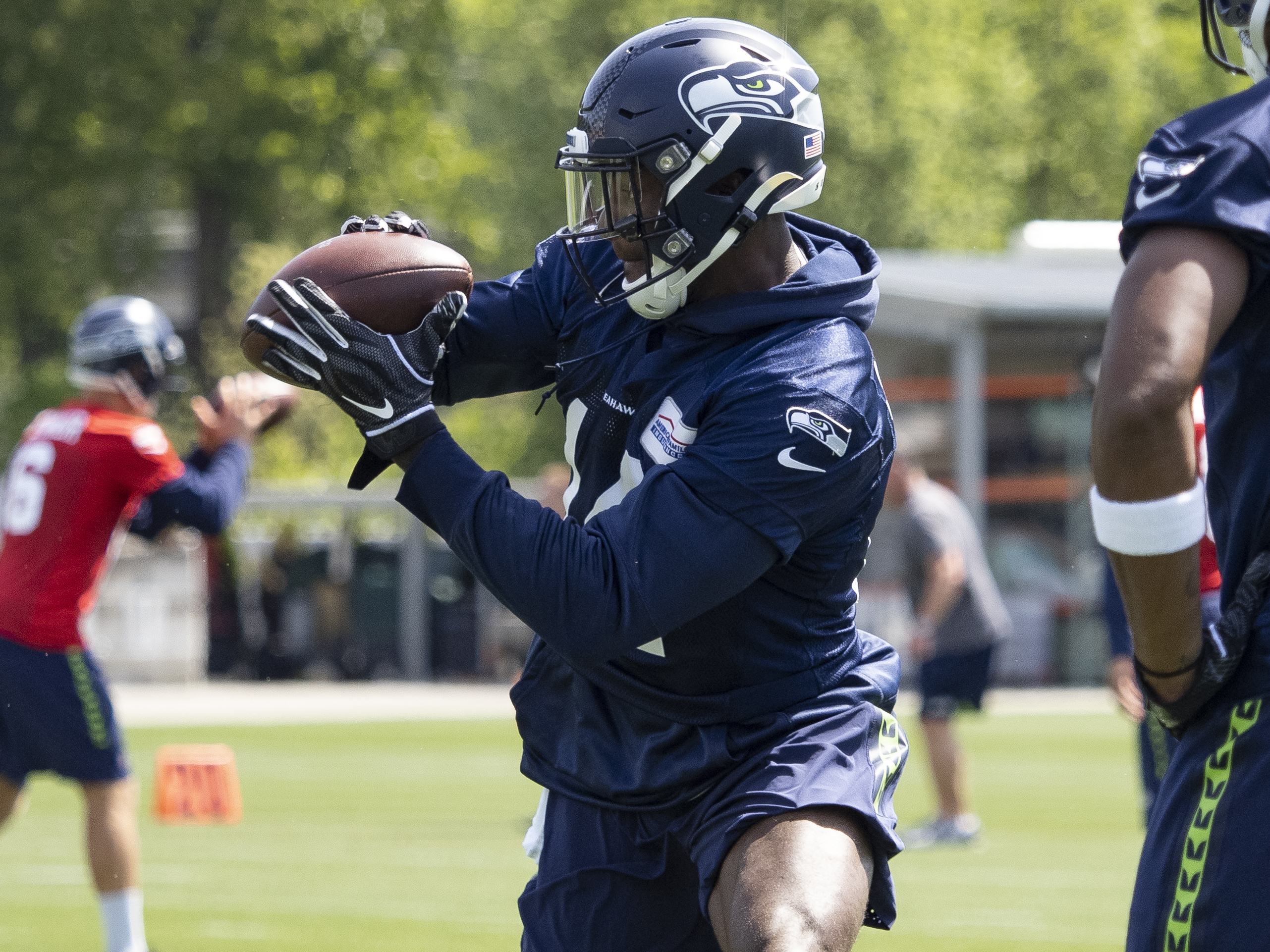 NFL: MAY 04 Seahawks Rookie Mini-Camp