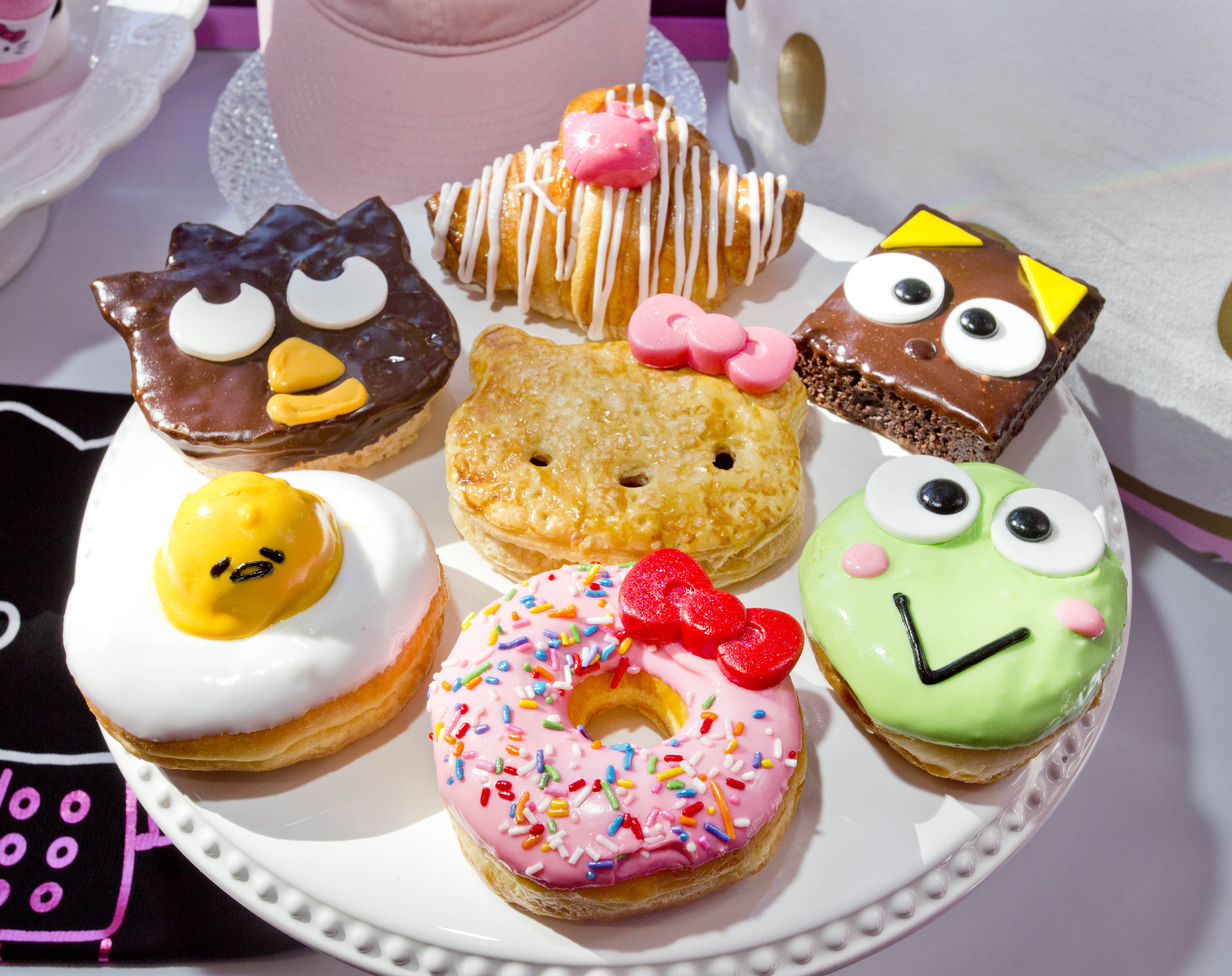 Hello Kitty Cafe treats