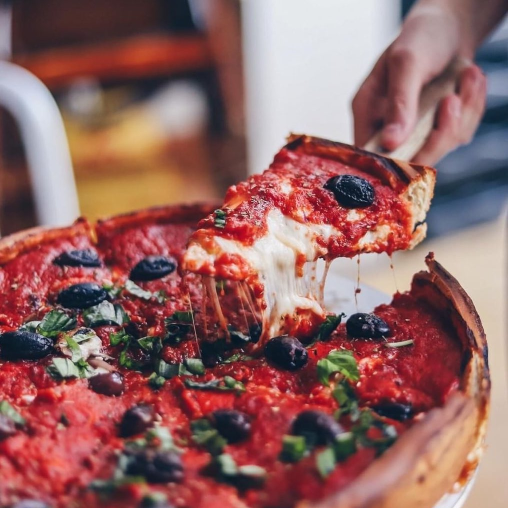 Downtown LA Beefs Up With a Big New Deep Dish Pizza Restaurant