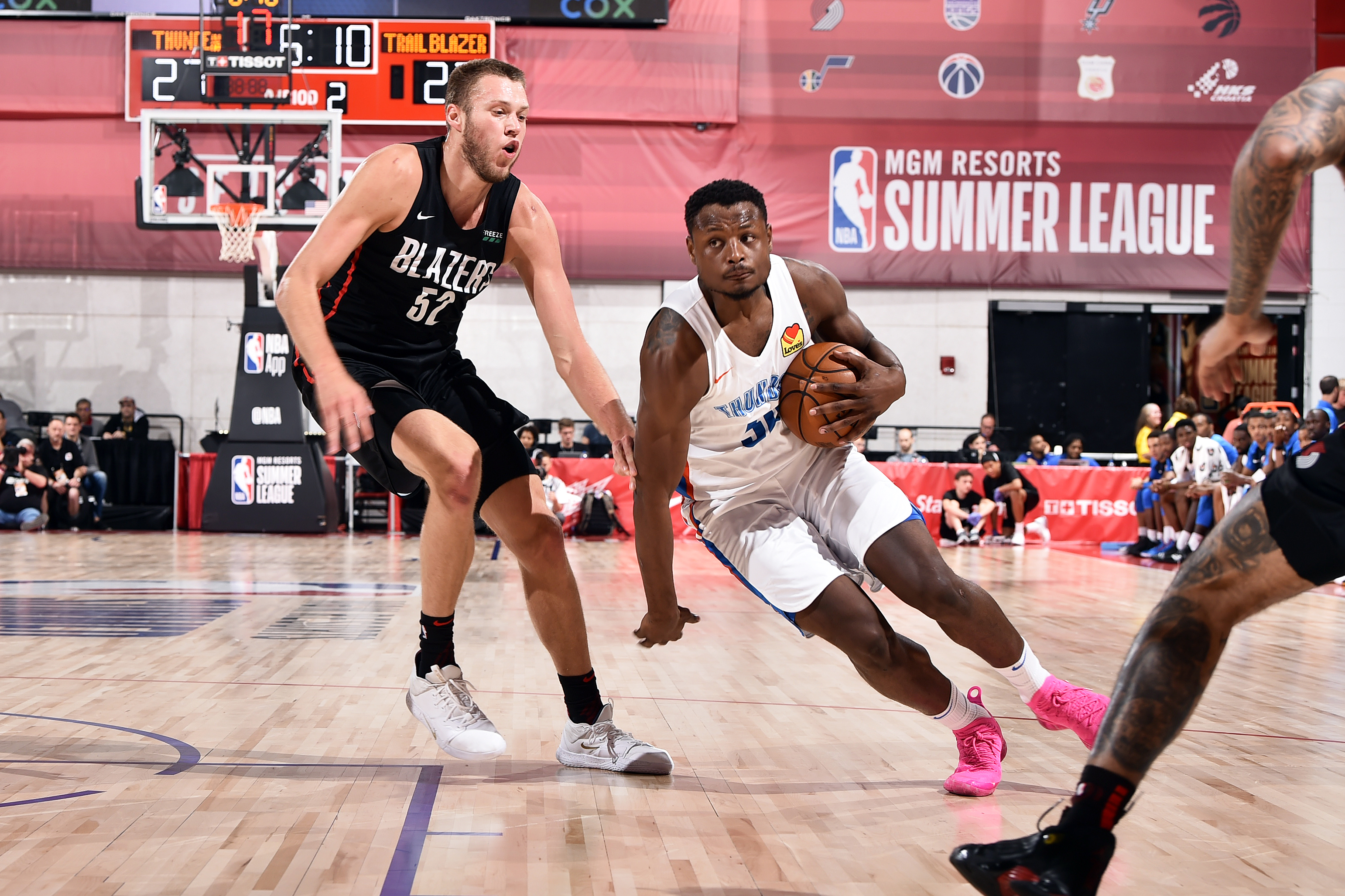2019 Las Vegas Summer League - Day 7 - Portland Trailblazers v Oklahoma City Thunder