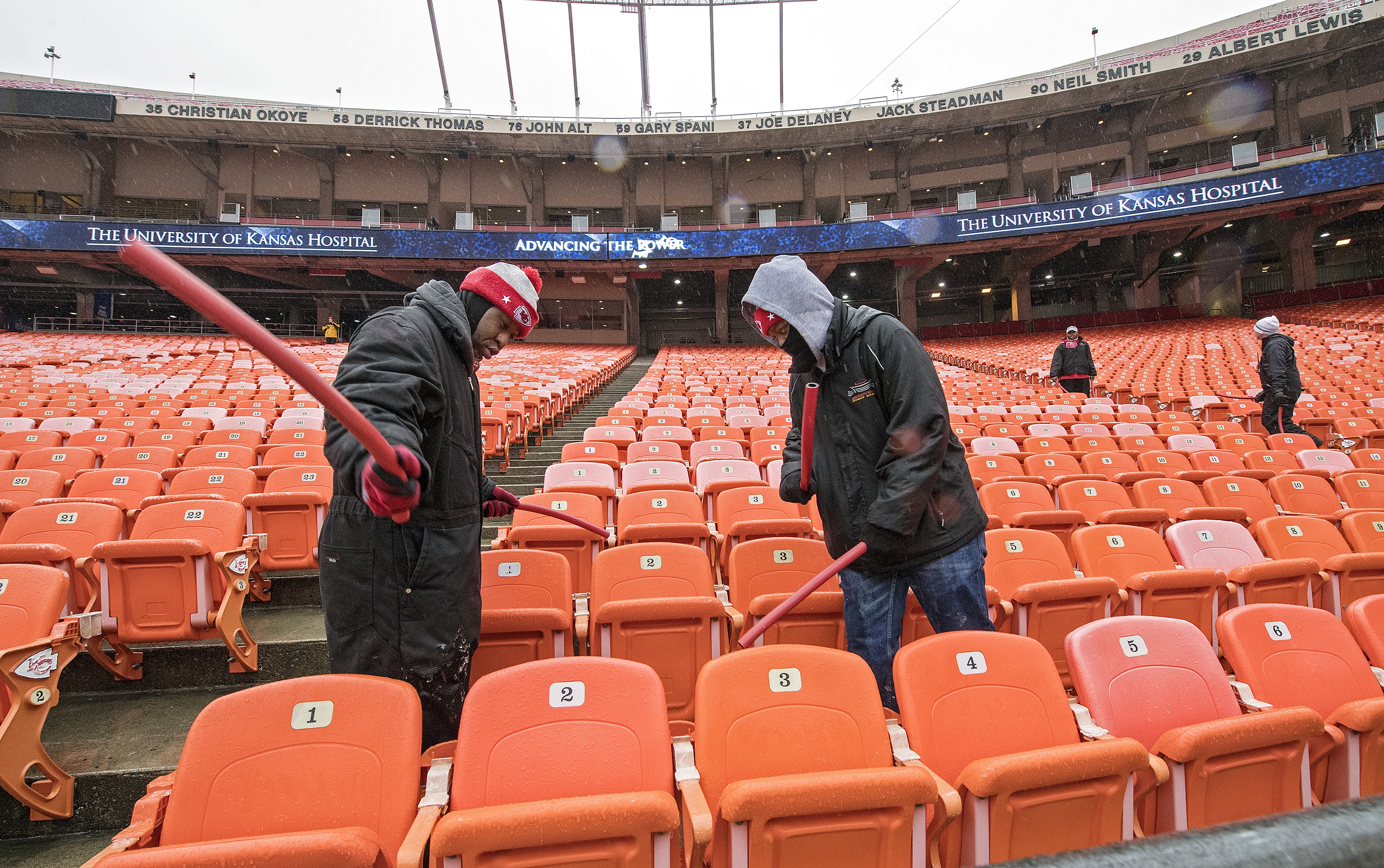a562a9b7 Old Arrowhead seats could be available to Chiefs fans before ...