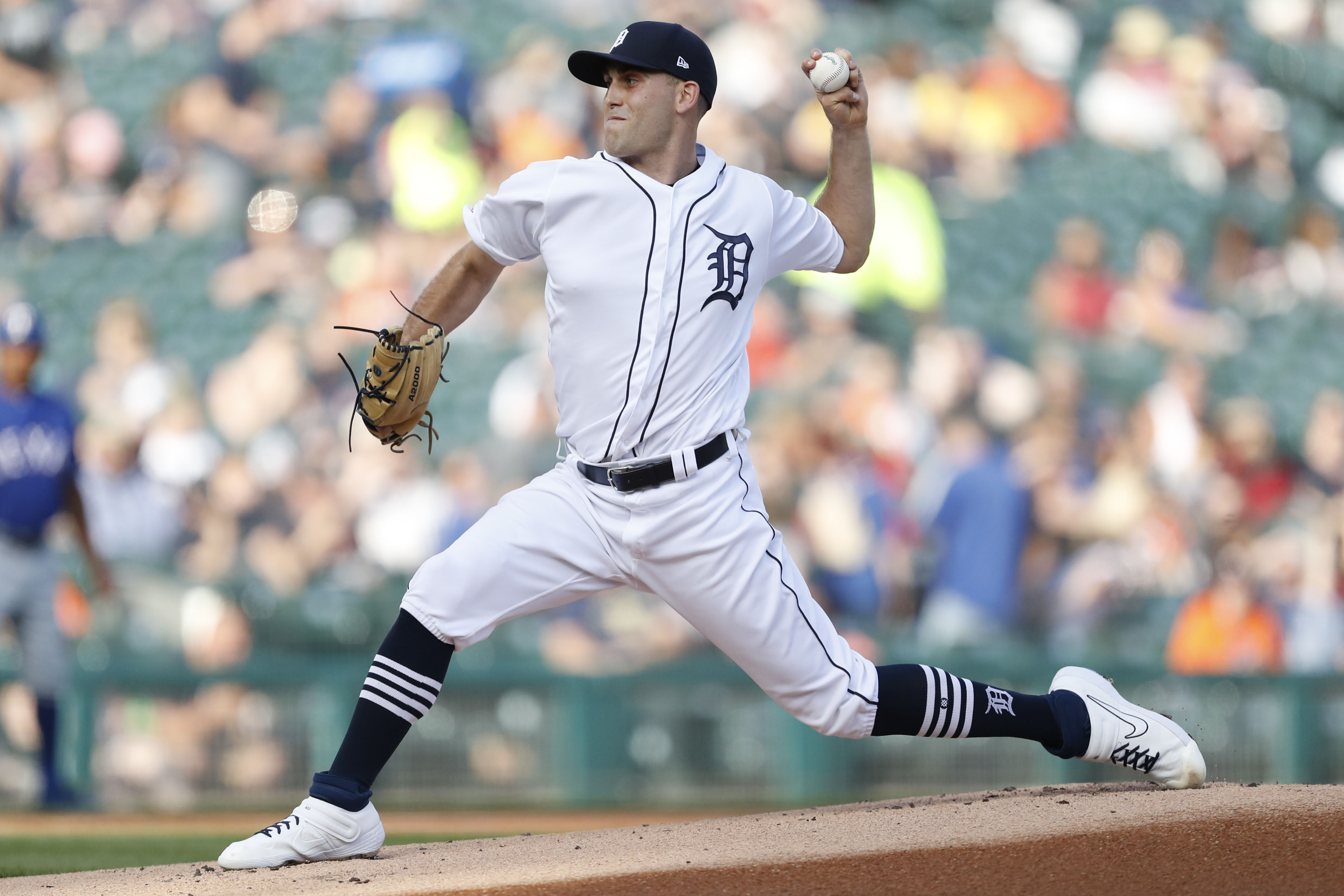 MLB: Texas Rangers at Detroit Tigers