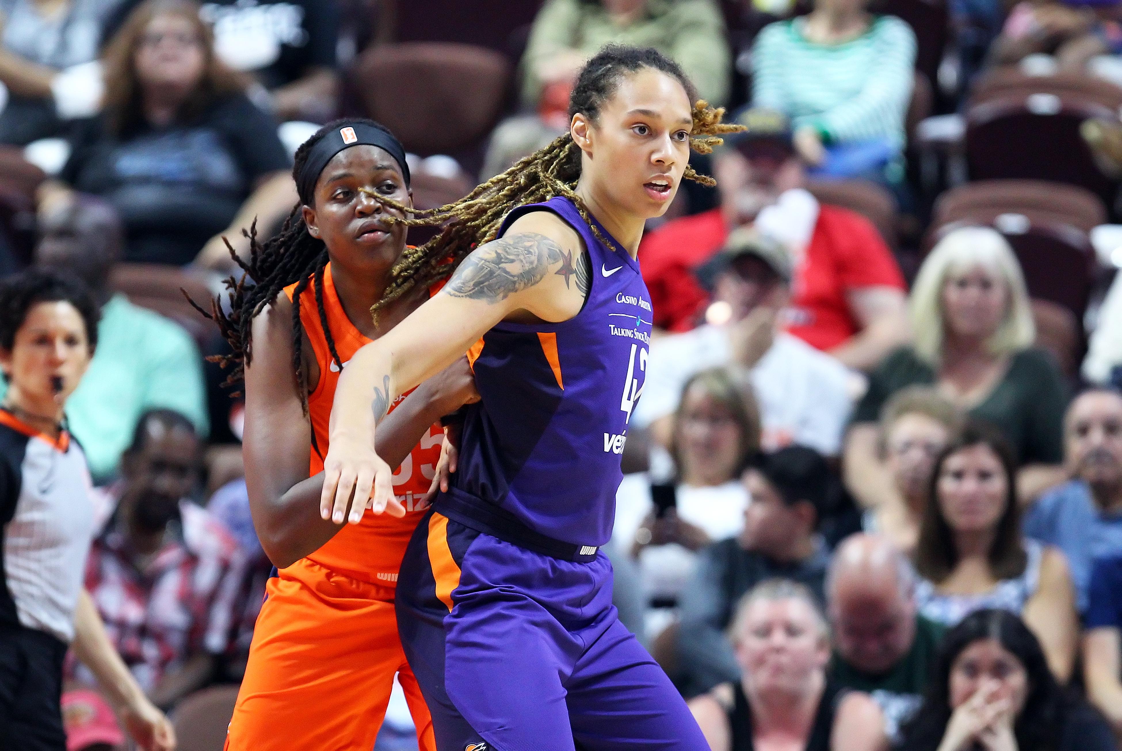 WNBA: AUG 23 Second Round Playoffs - Phoenix Mercury at Connecticut Sun