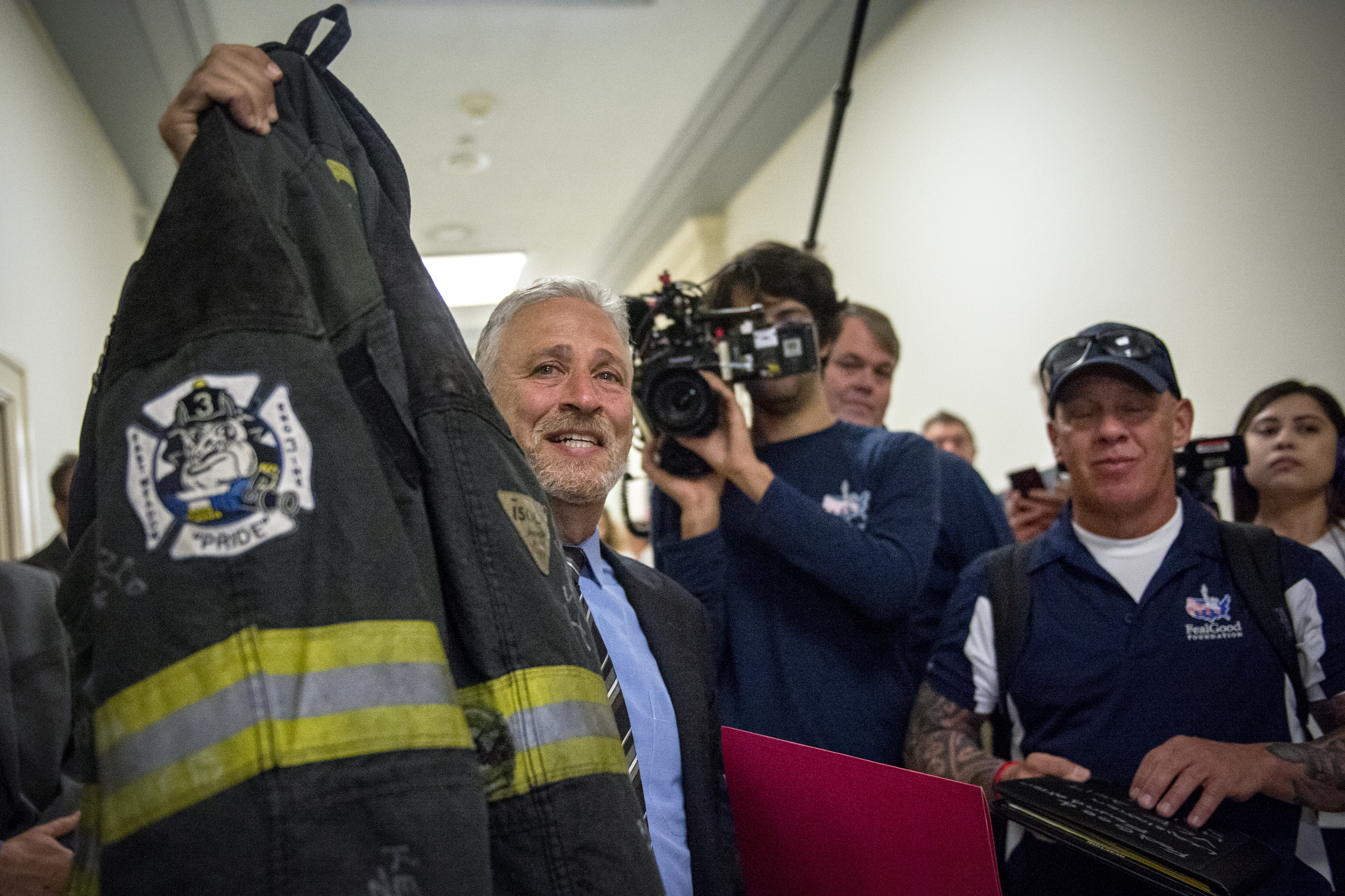 House passes funding for 9/11 first responders after public shaming from Jon Stewart