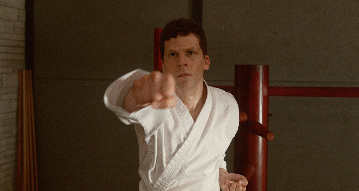 Jesse Eisenberg stars in The Art of Self-Defense.