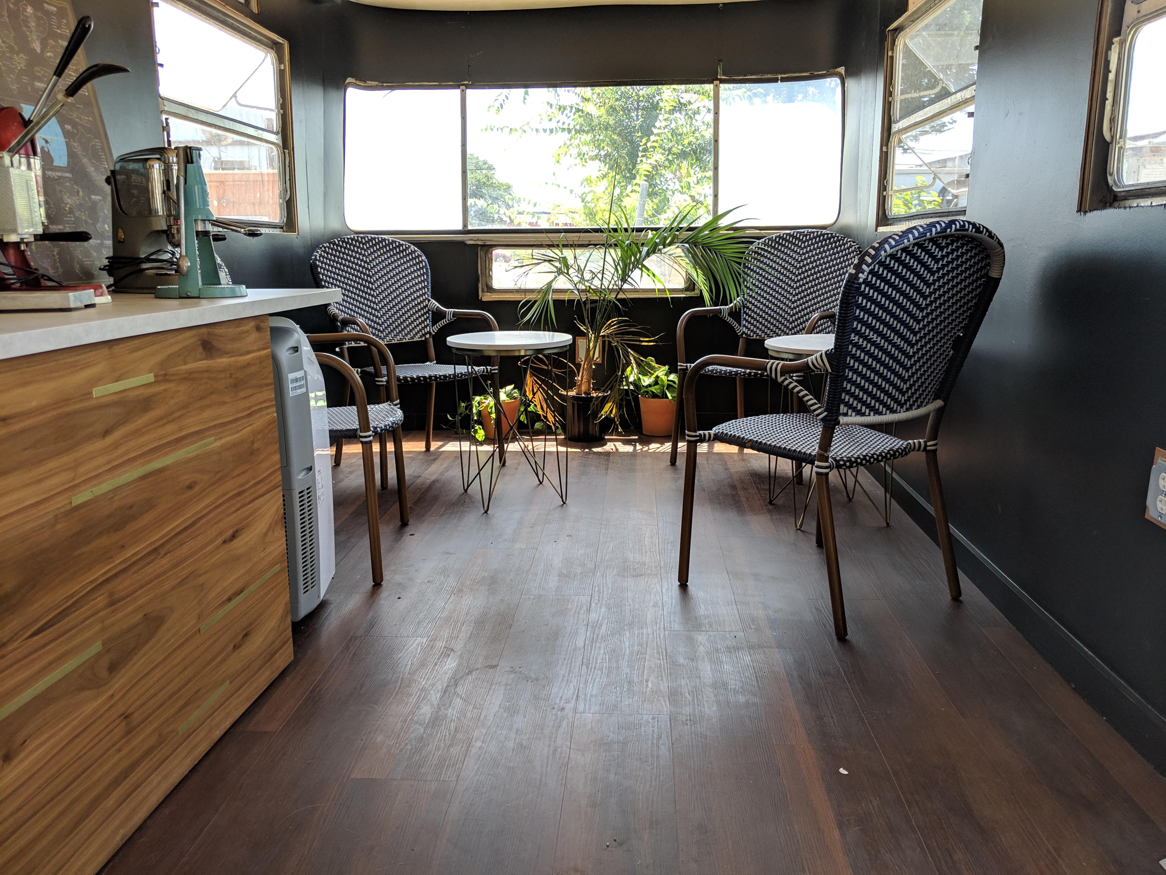 LeverCraft Coffee's space