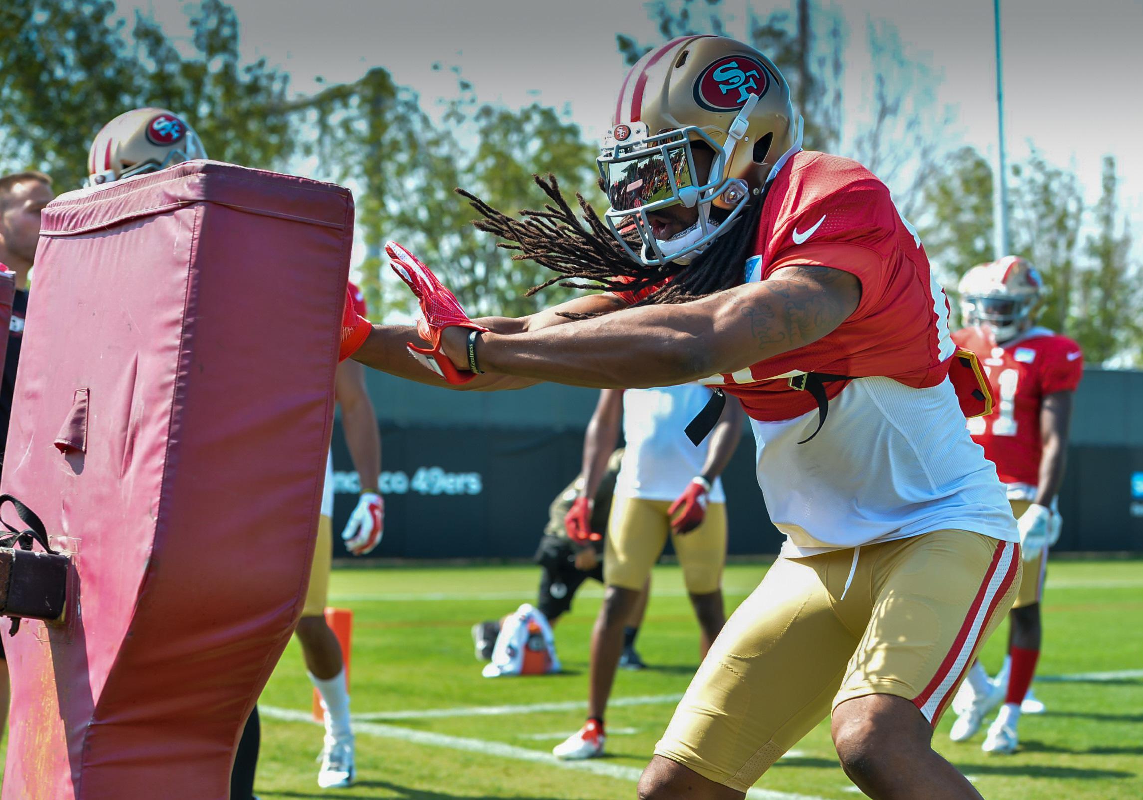 NFL: AUG 12 49ers Training Camp