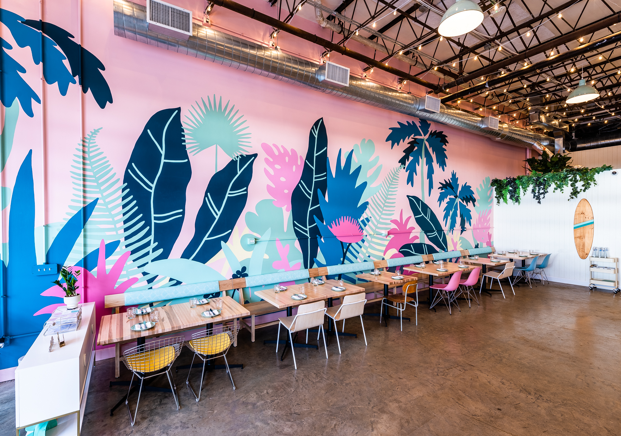Coconut Club mural