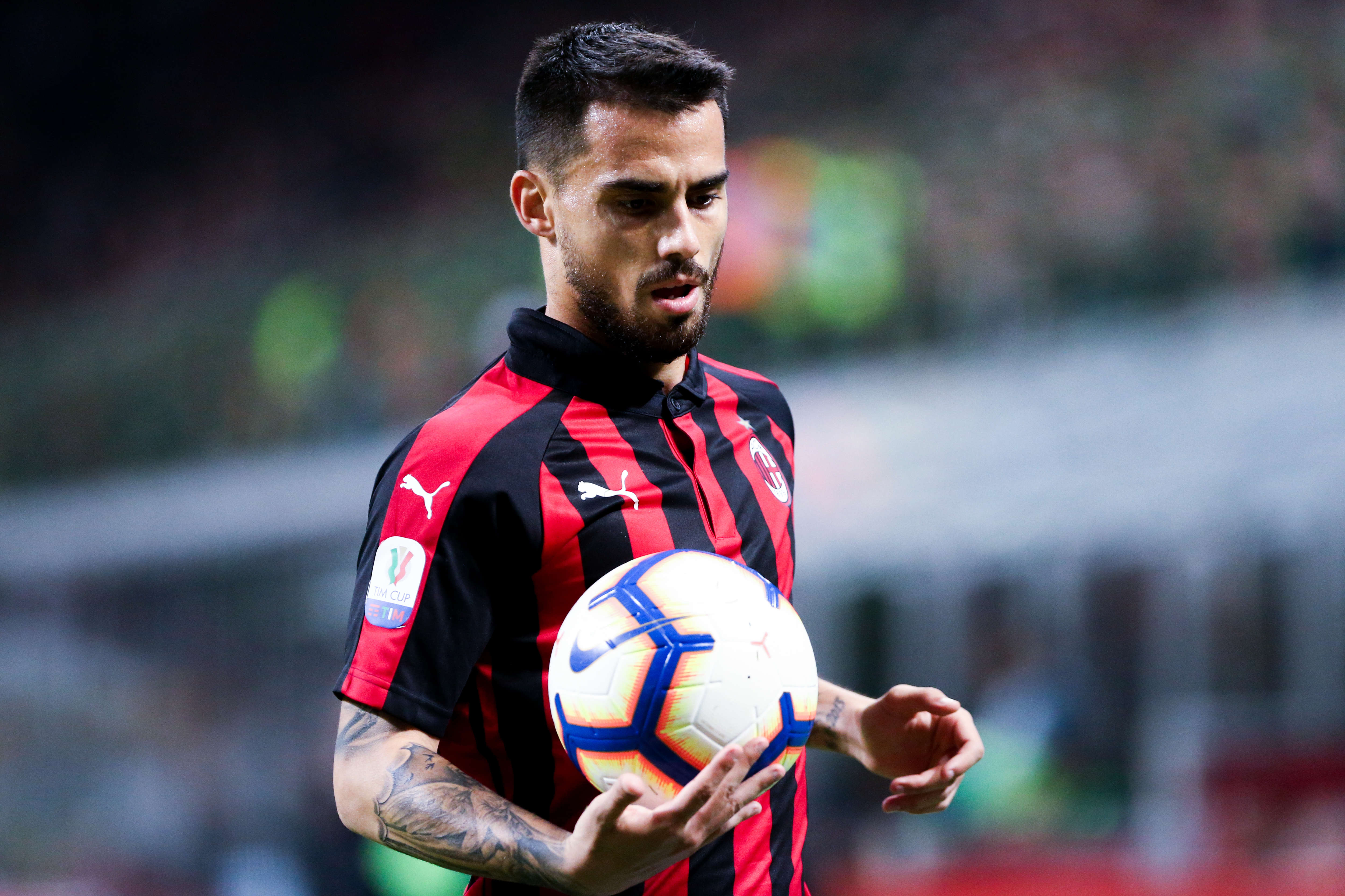 Suso of Ac Milan during the TIM Cup match between AC...