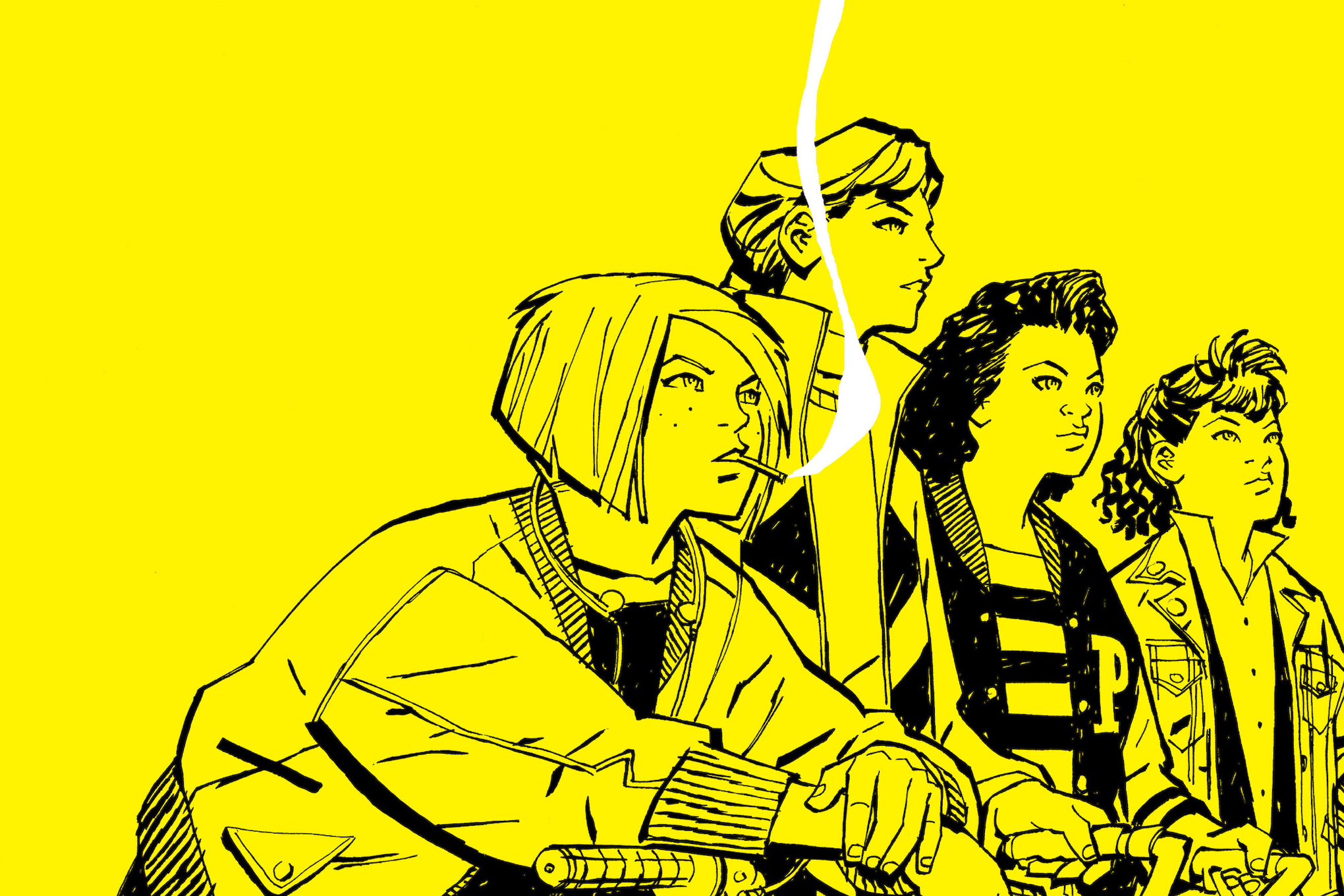 If you like Stranger Things, you should be reading Paper Girls
