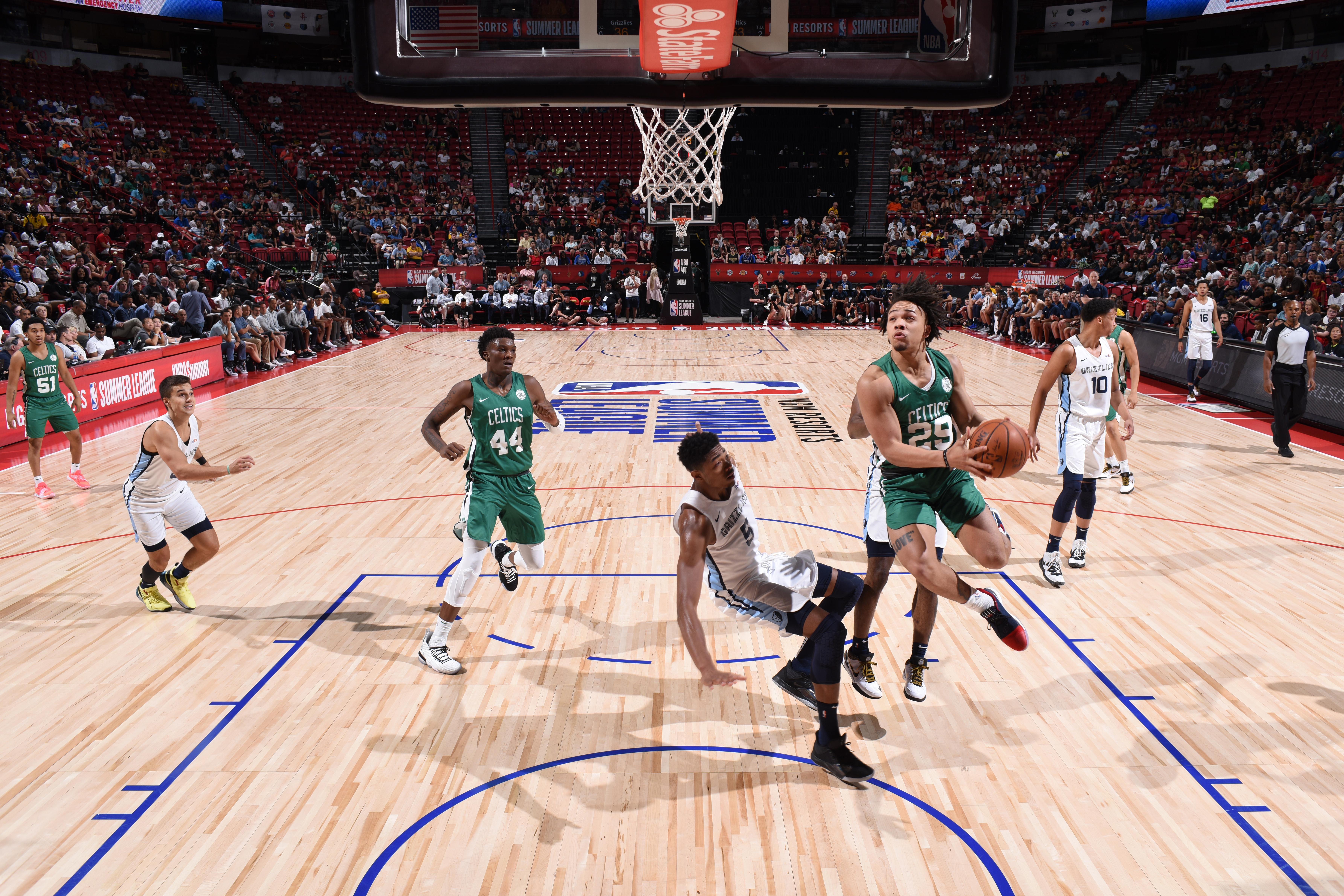 2019 Las Vegas Summer League - Boston Celtics v Memphis Grizzlies