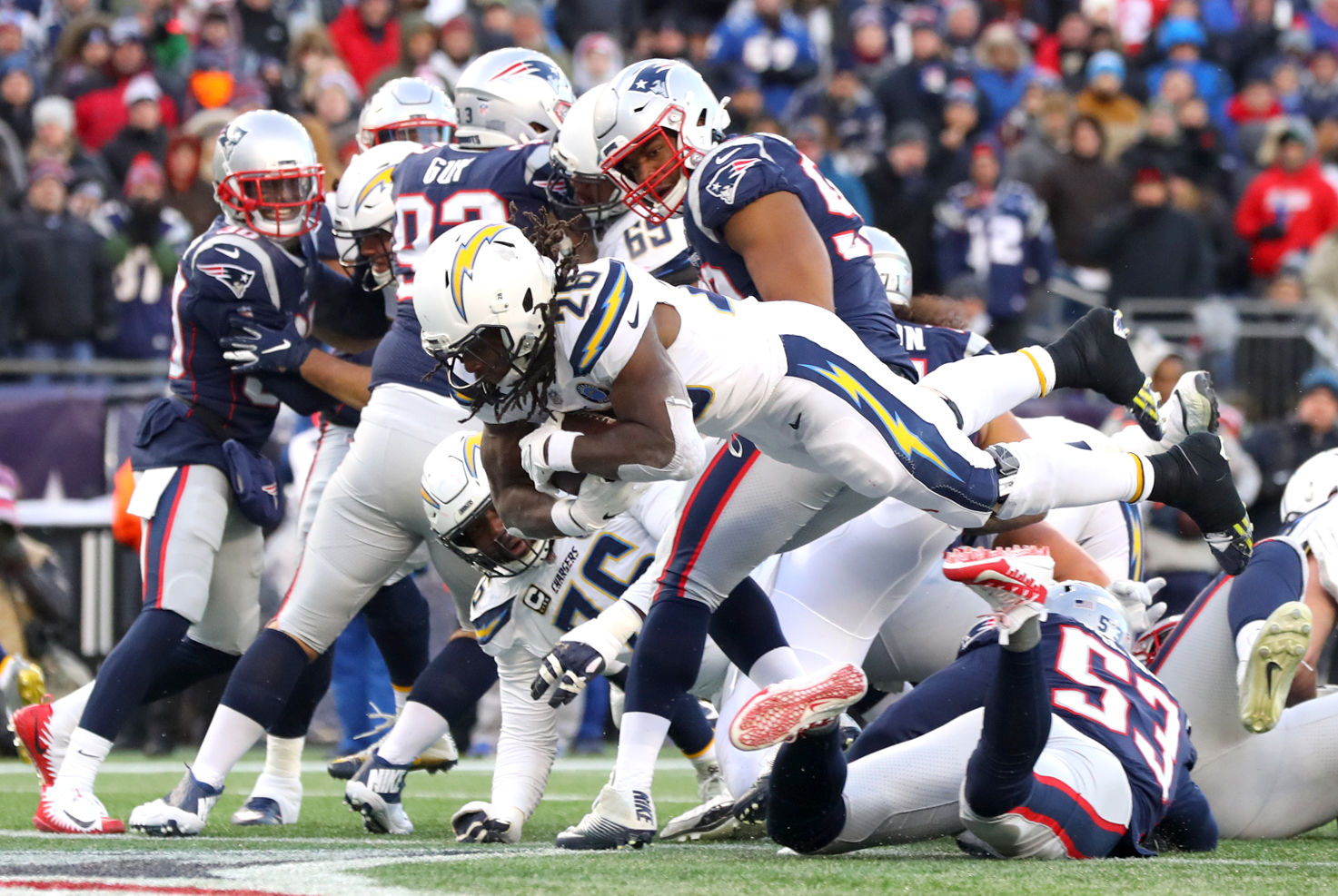 Divisional Round - Los Angeles Chargers v New England Patriots