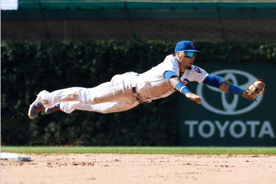 Cubs shortstop Javy Baez
