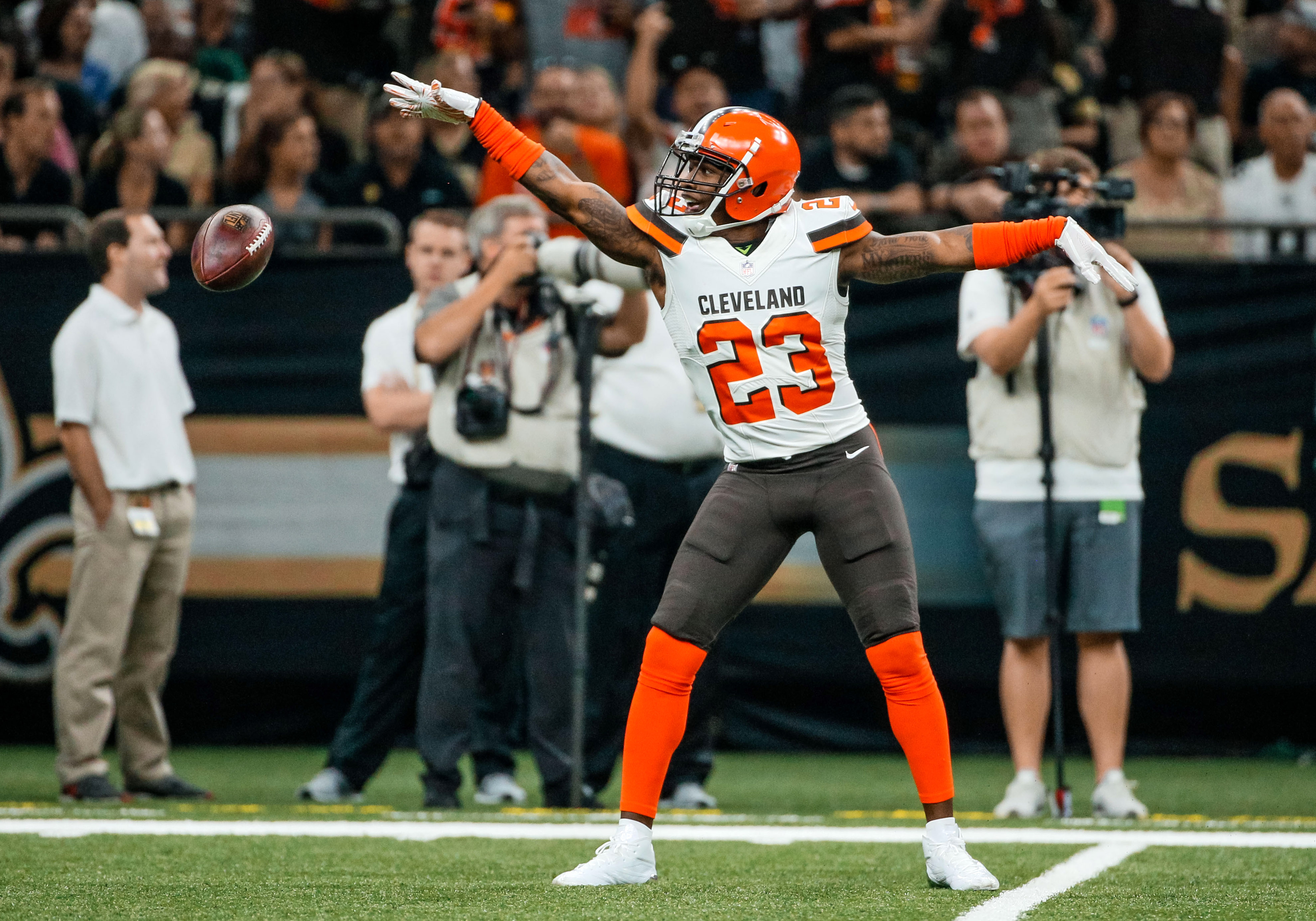 NFL: Cleveland Browns at New Orleans Saints