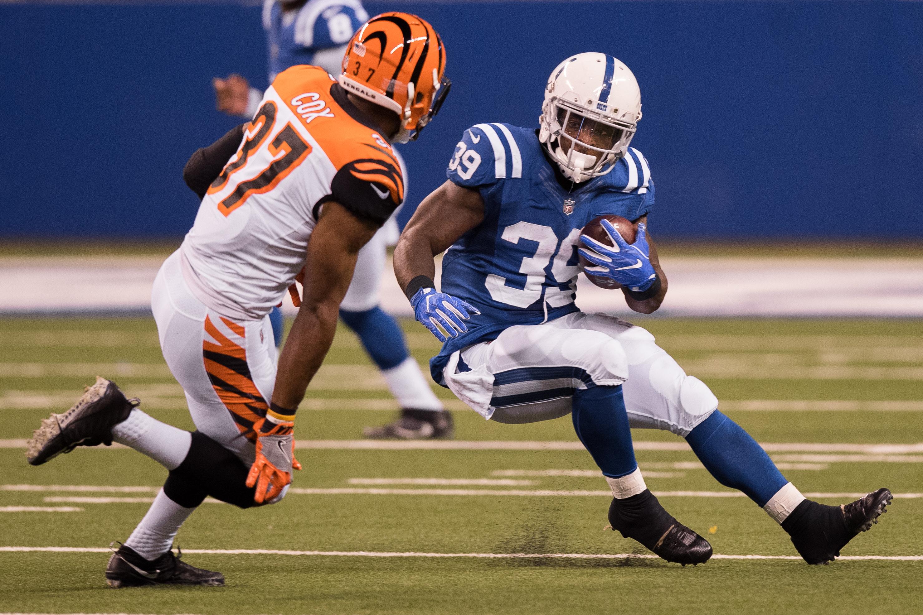 NFL: AUG 31 Preseason - Bengals at Colts