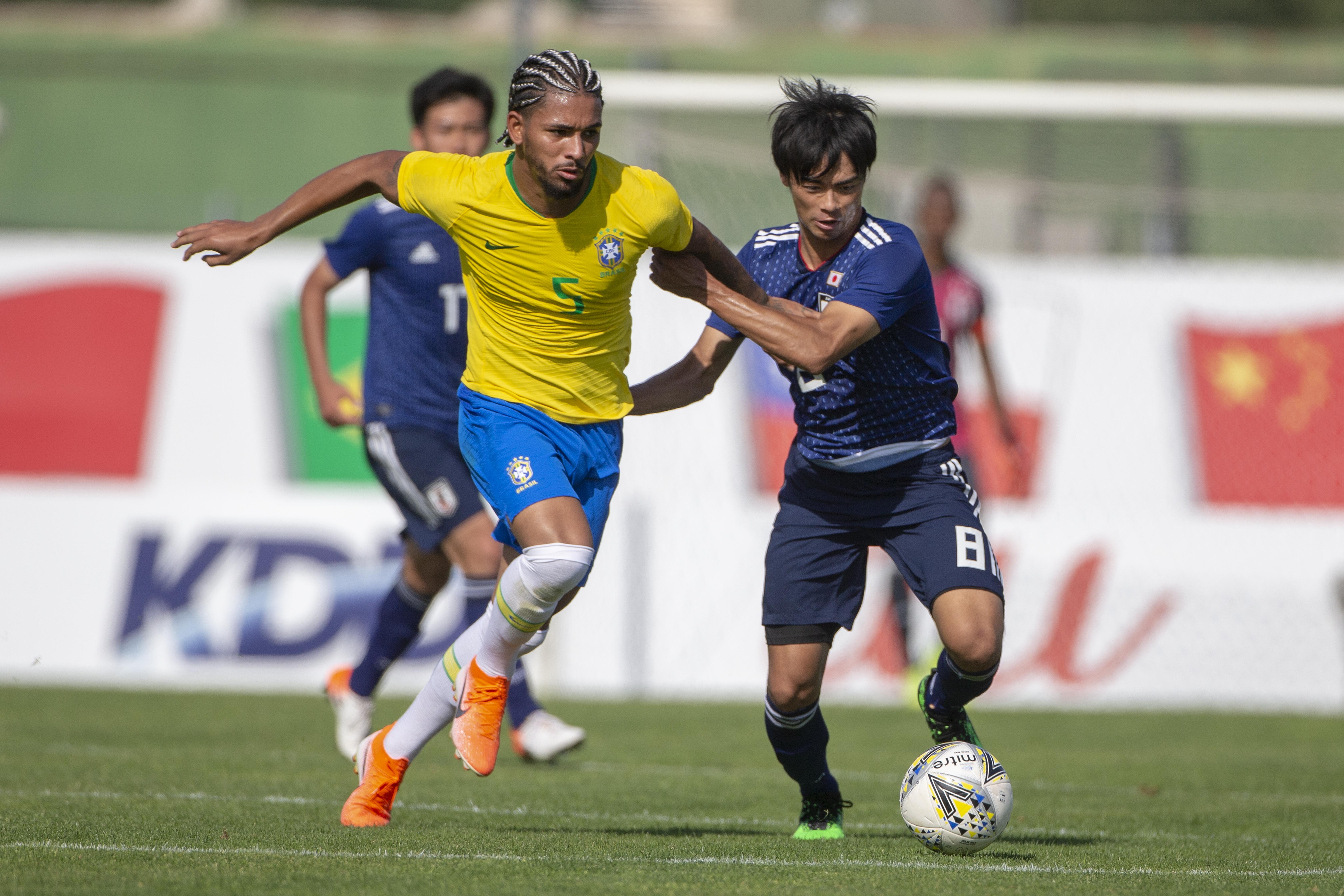 Brazil U22 V Japan U22