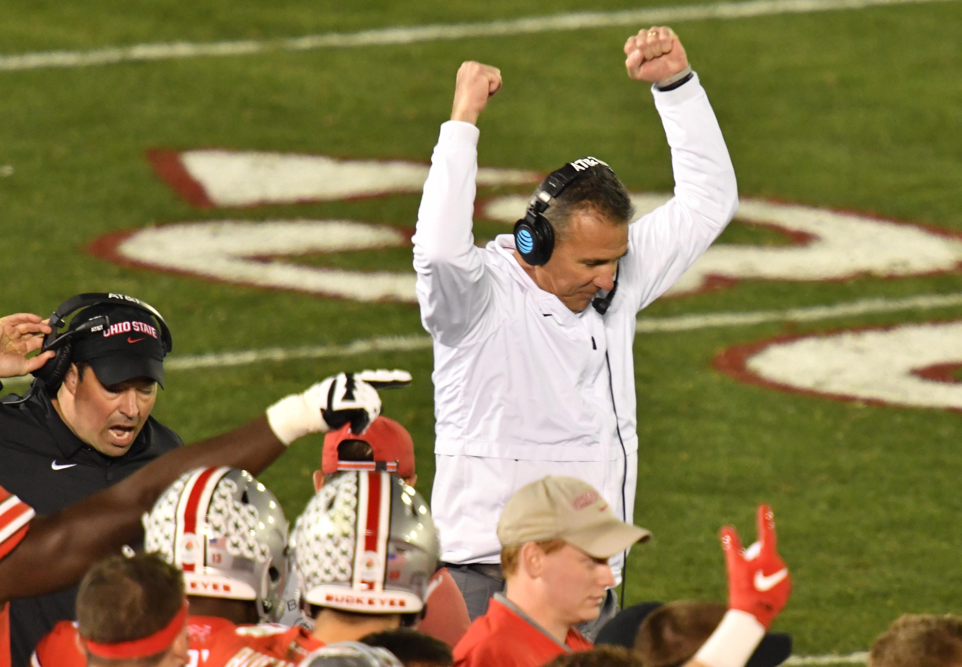 NCAA Football: Rose Bowl Game-Ohio State vs Washington