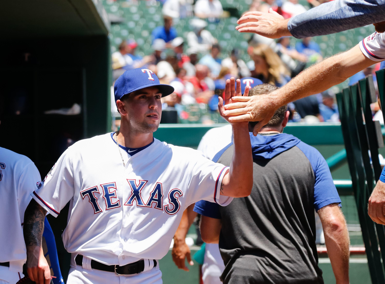 MLB: Game One-Oakland Athletics at Texas Rangers