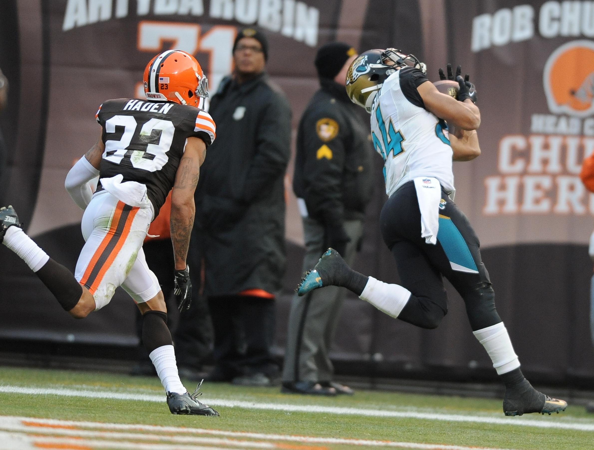 Cleveland Browns v Jacksonville Jaguars 12-1-2013
