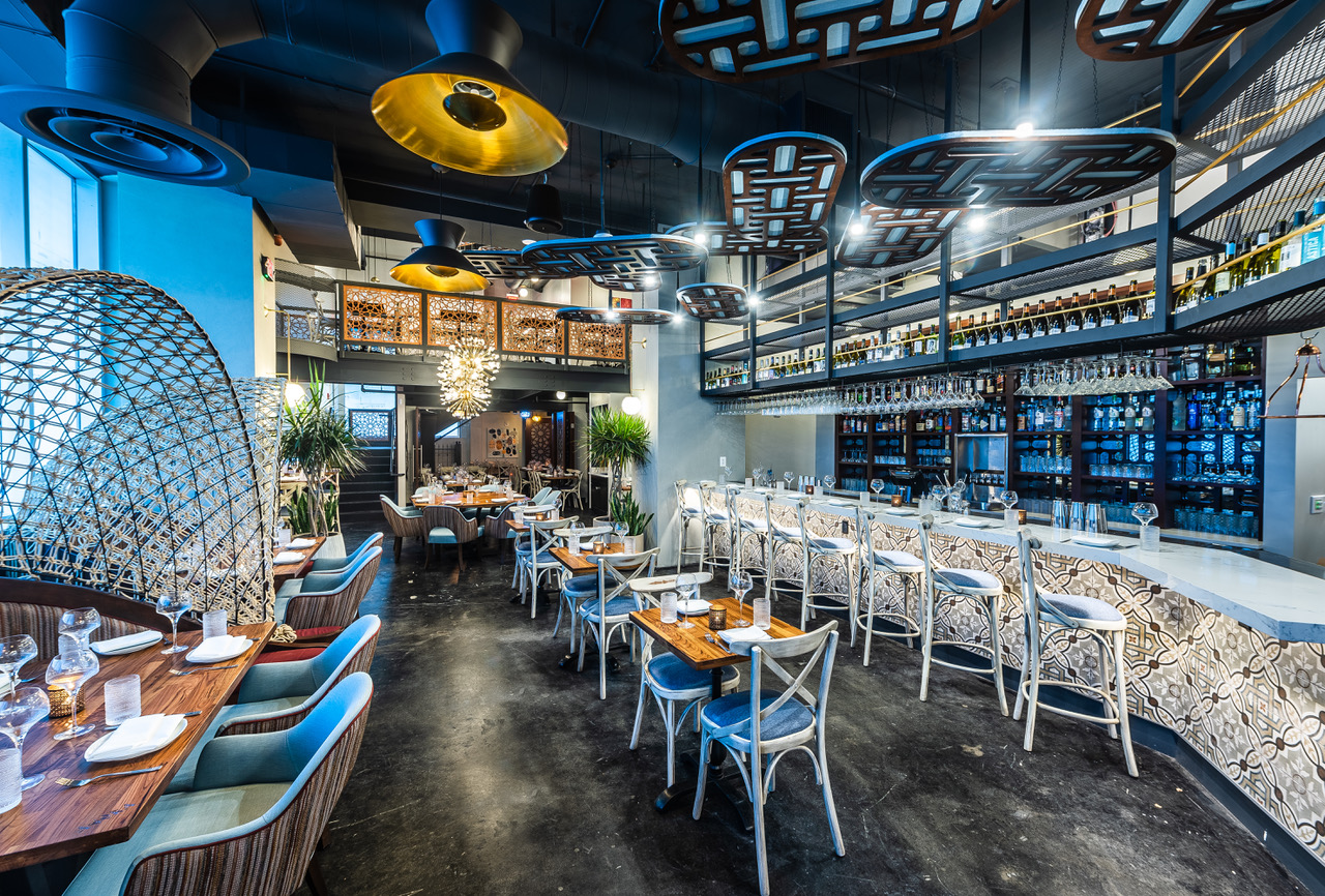 A Gorgeous New Mediterranean Hangout Opens Tomorrow in Tysons Corner