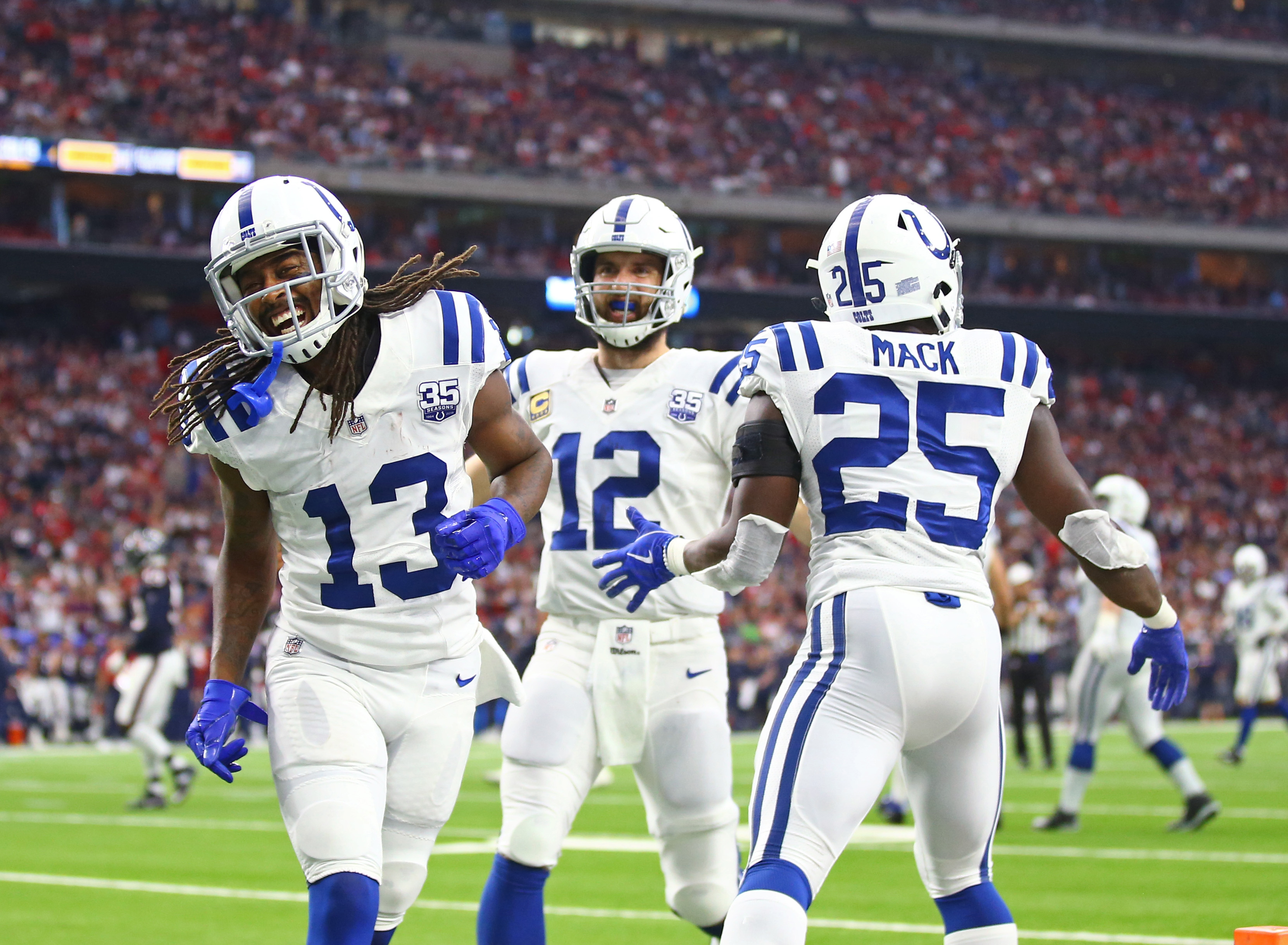 NFL: AFC Wild Card-Indianapolis Colts at Houston Texans