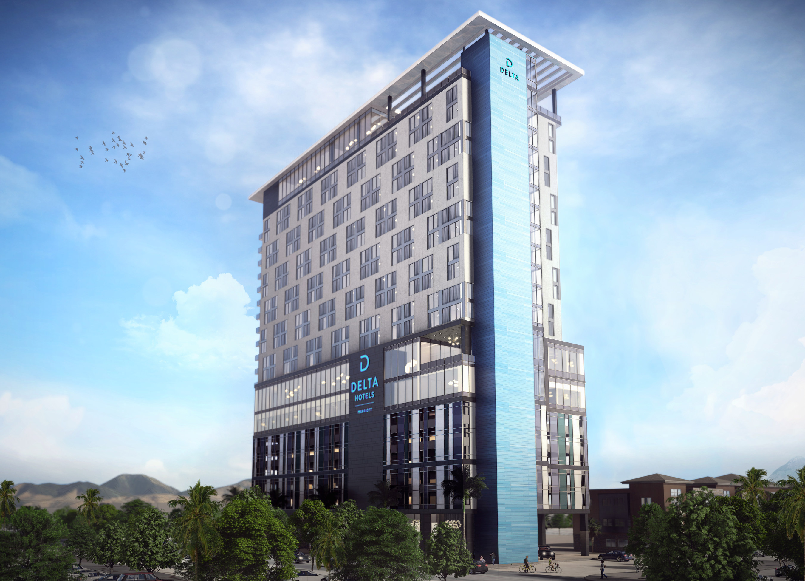 New Hotel Includes Dining and a Coffee Bar