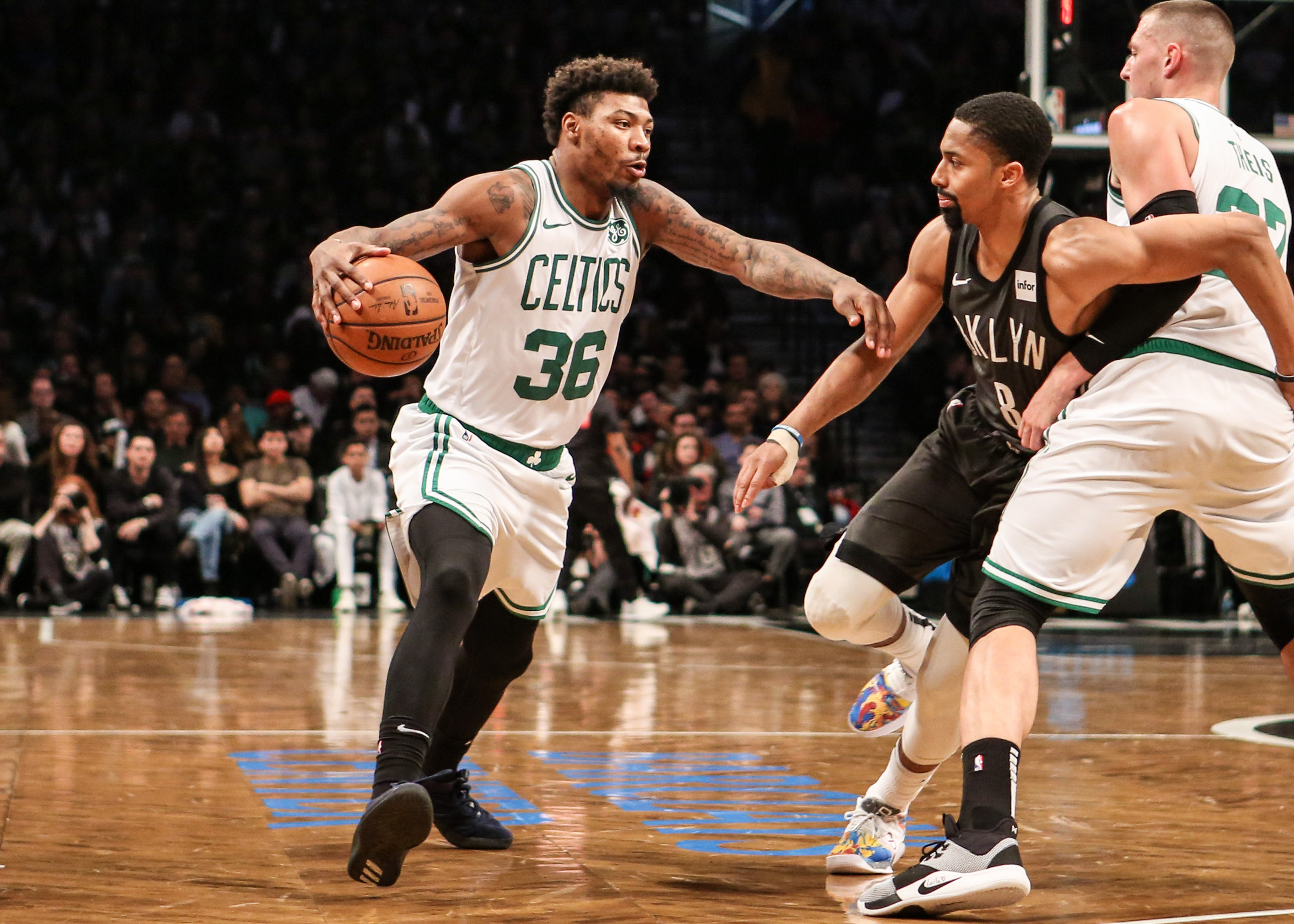 NBA: Boston Celtics at Brooklyn Nets