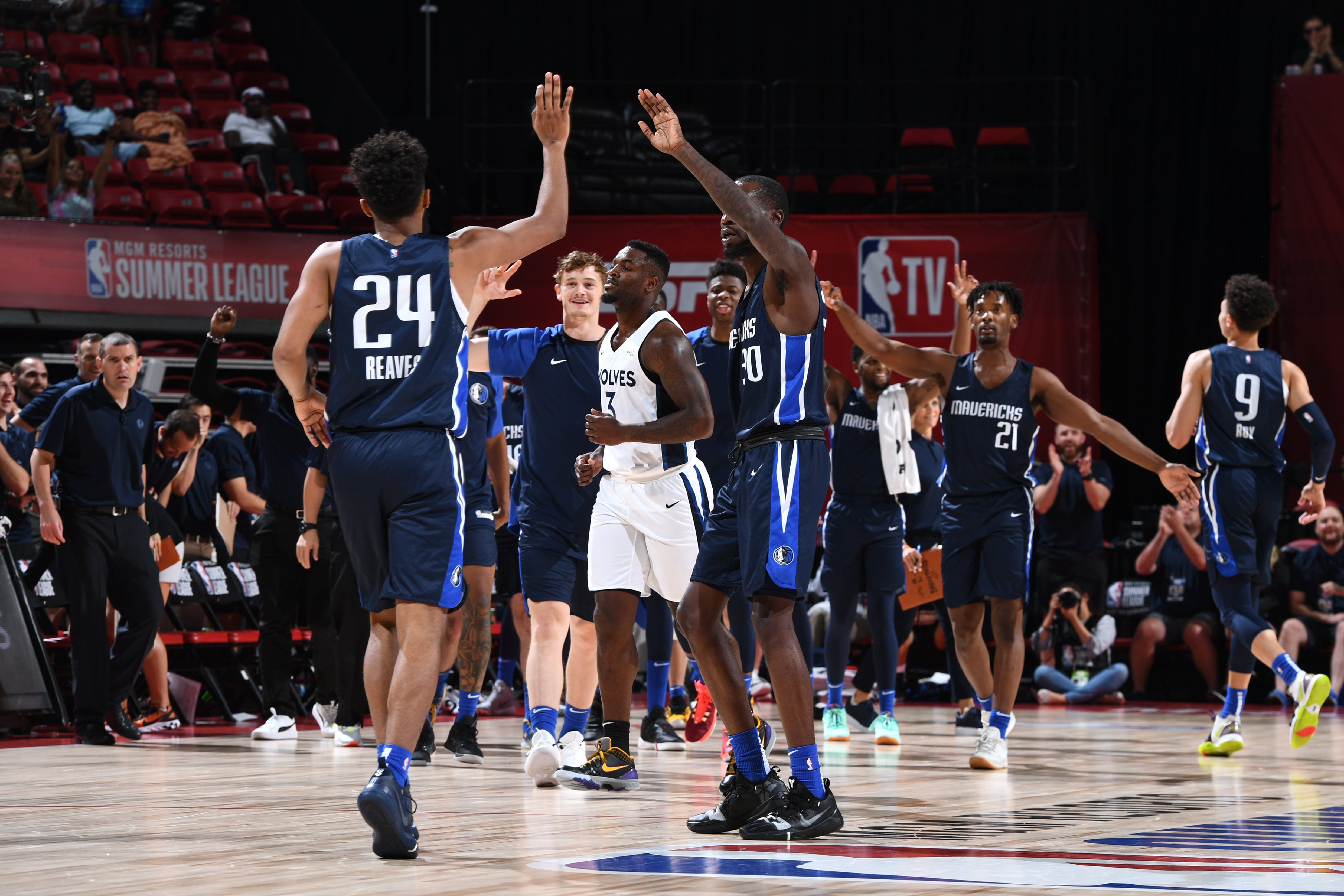 2019 Las Vegas Summer League - Day 9 - Dallas Mavericks v Minnesota Timberwolves