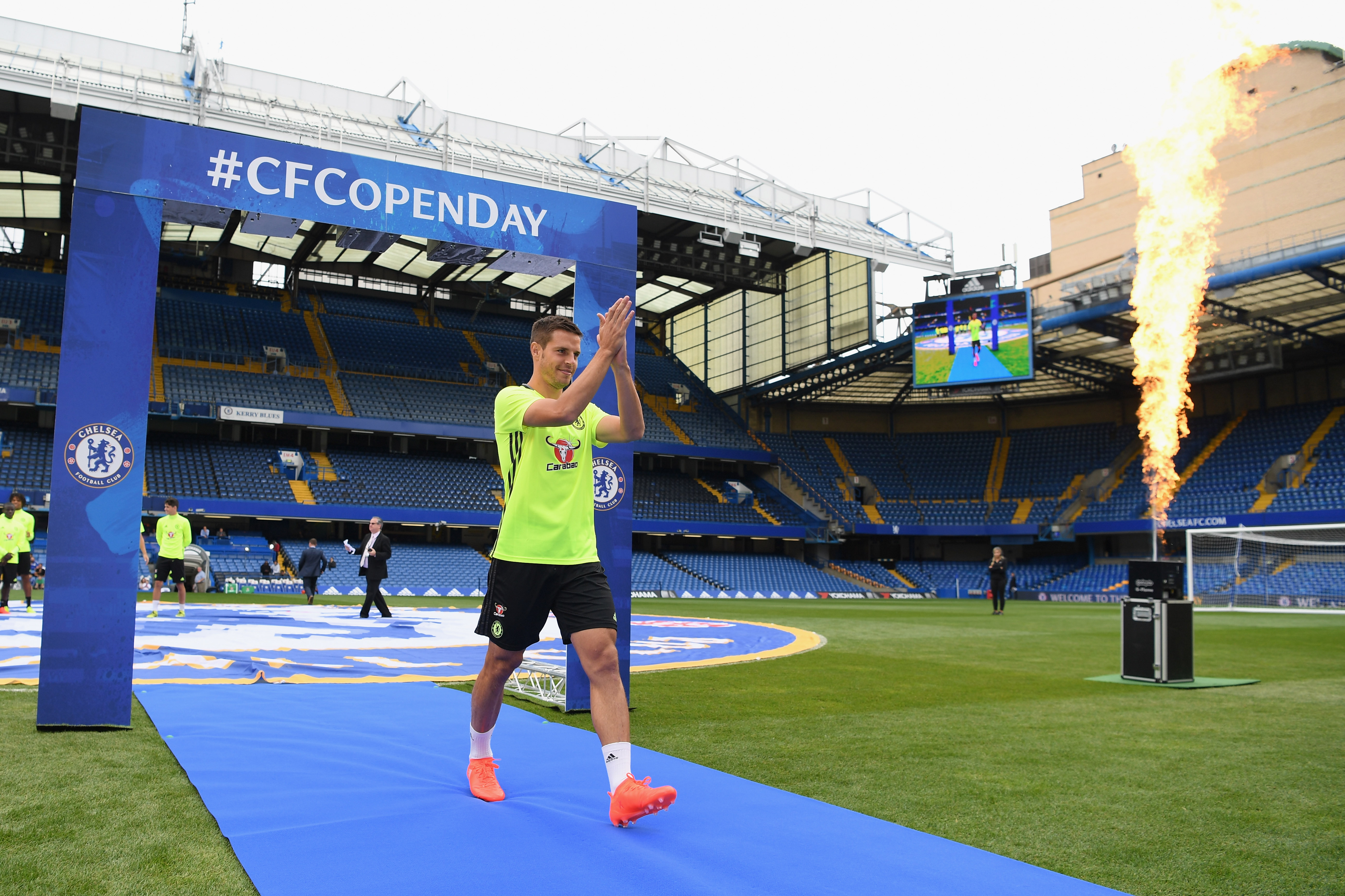 Chelsea to hold rare open training at Stamford Bridge
