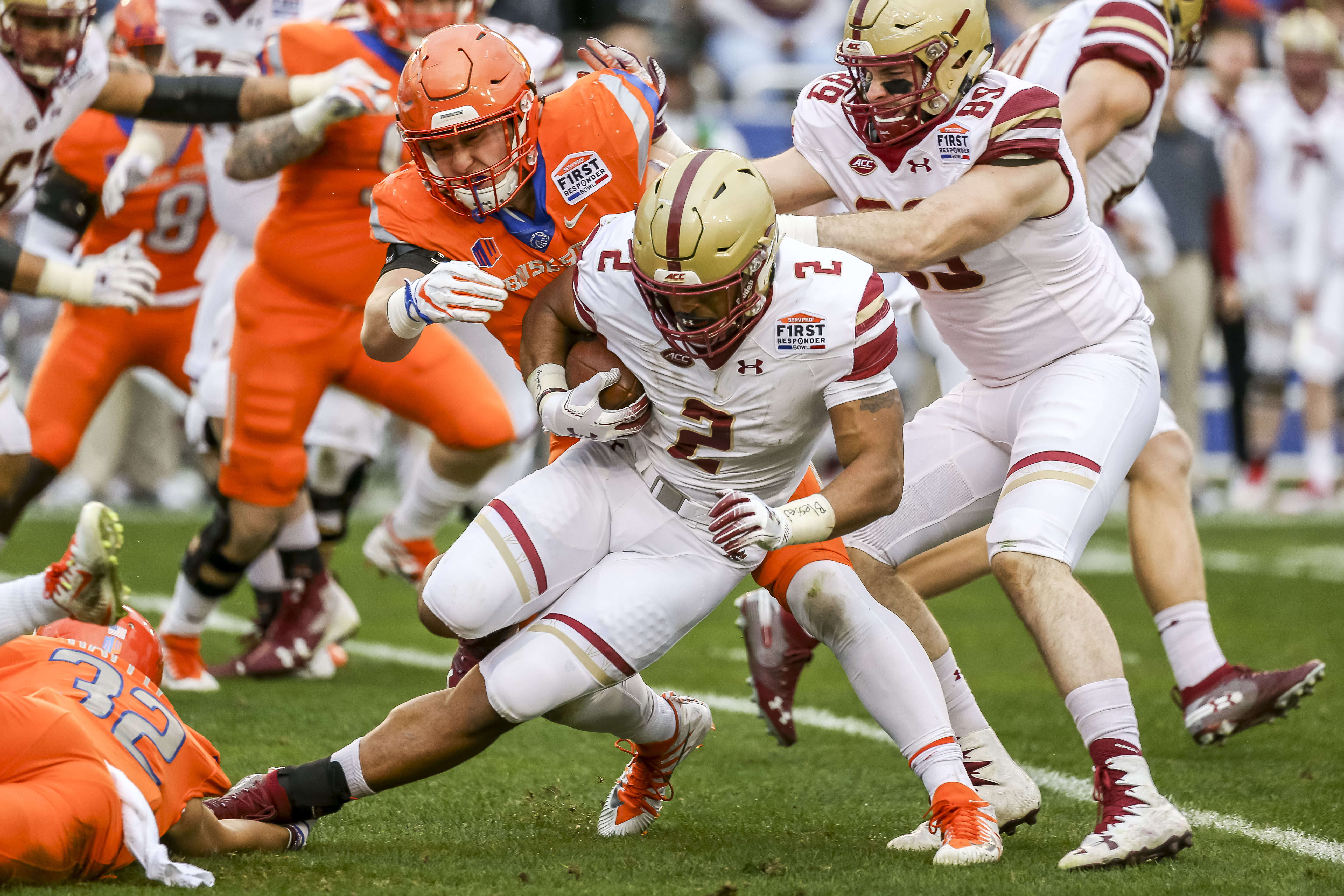 COLLEGE FOOTBALL: DEC 26 First Responder Bowl - Boston College v Boise State