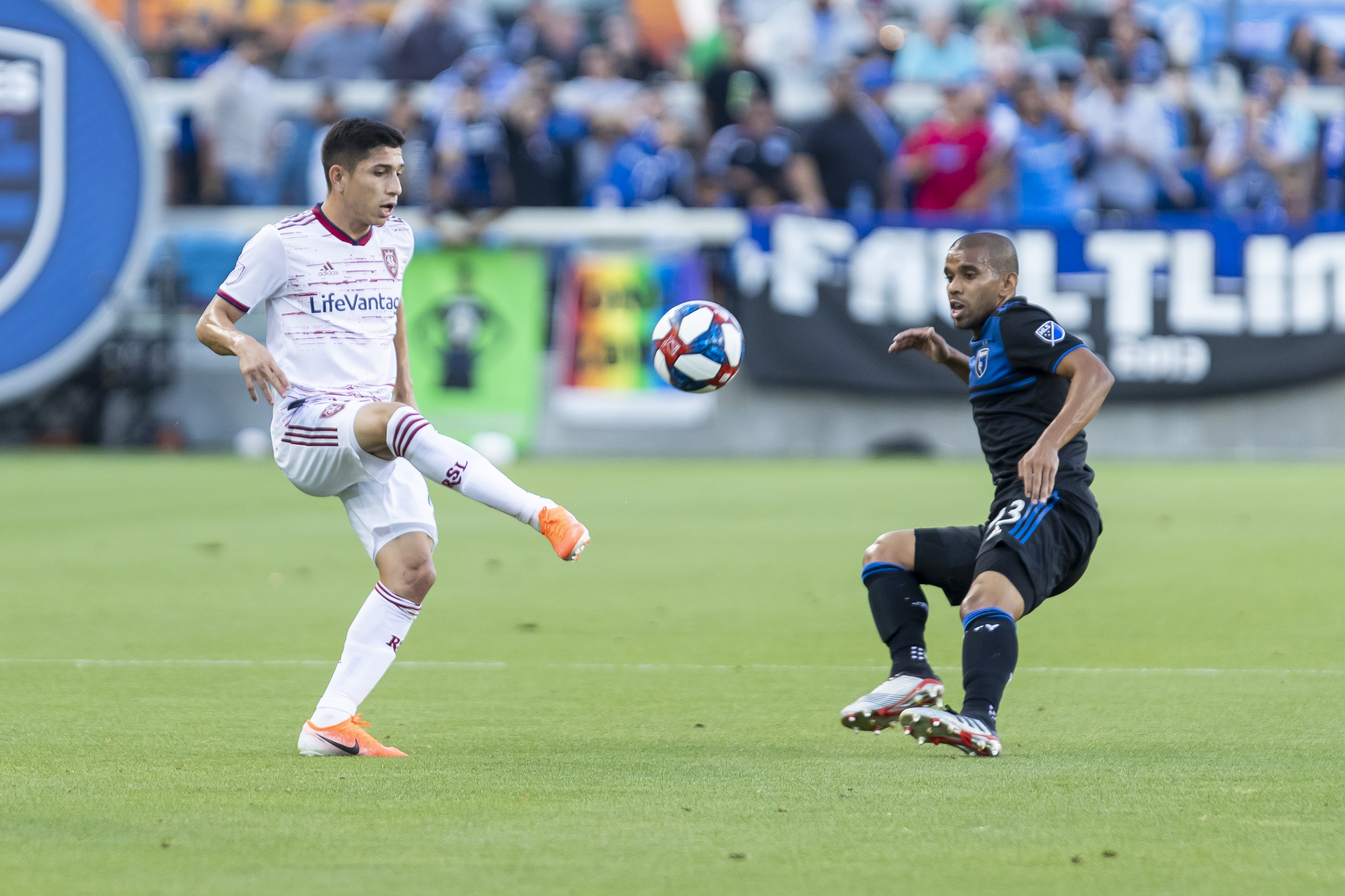 SOCCER: JUL 06 MLS - Real Salt Lake at San Jose Earthquakes