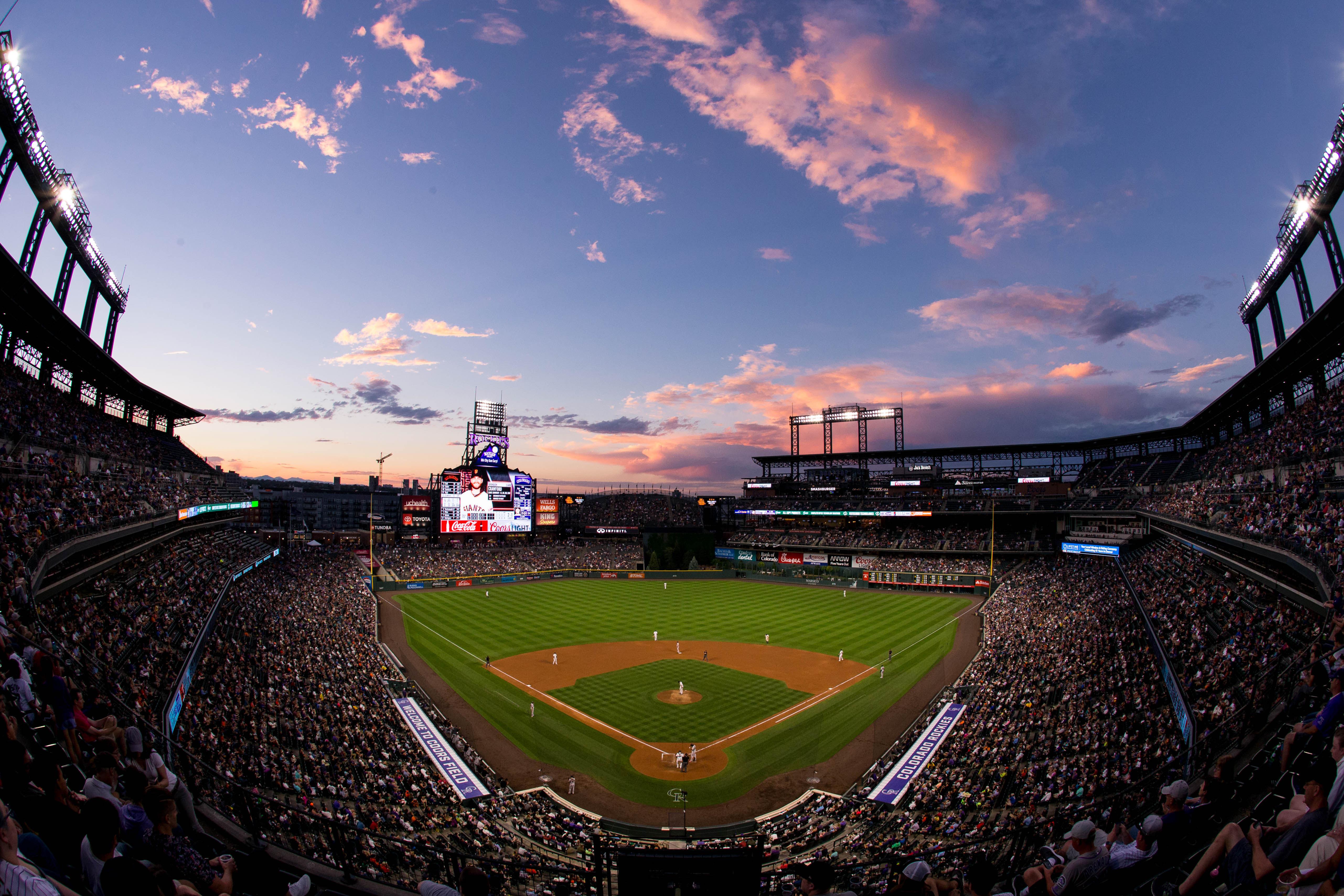 MLB: Game Two-San Francisco Giants at Colorado Rockies