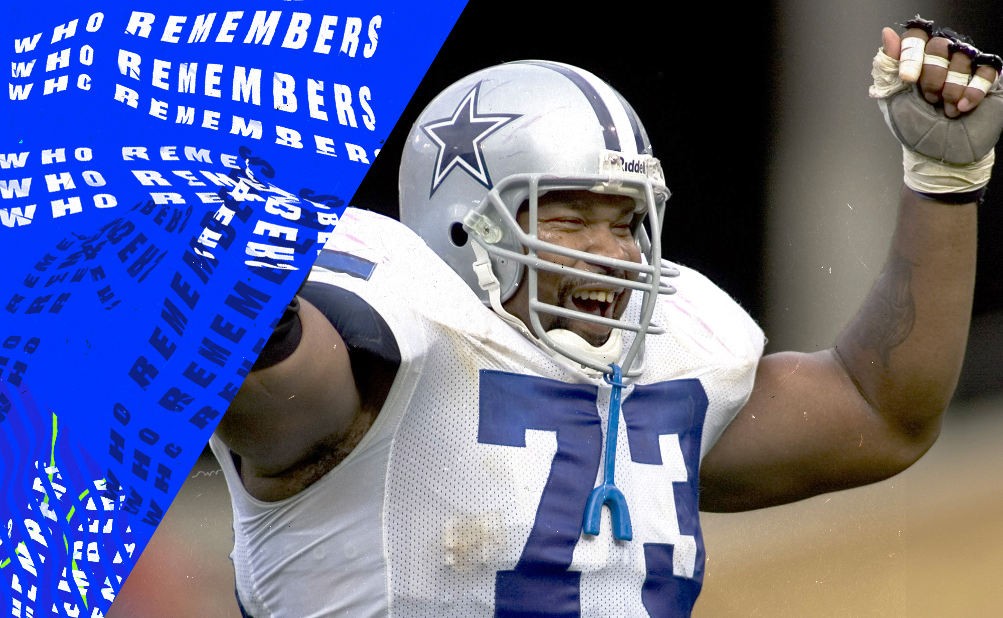 I *wish* I could remember when 325-pound Larry Allen stopped a pick-six from happening
