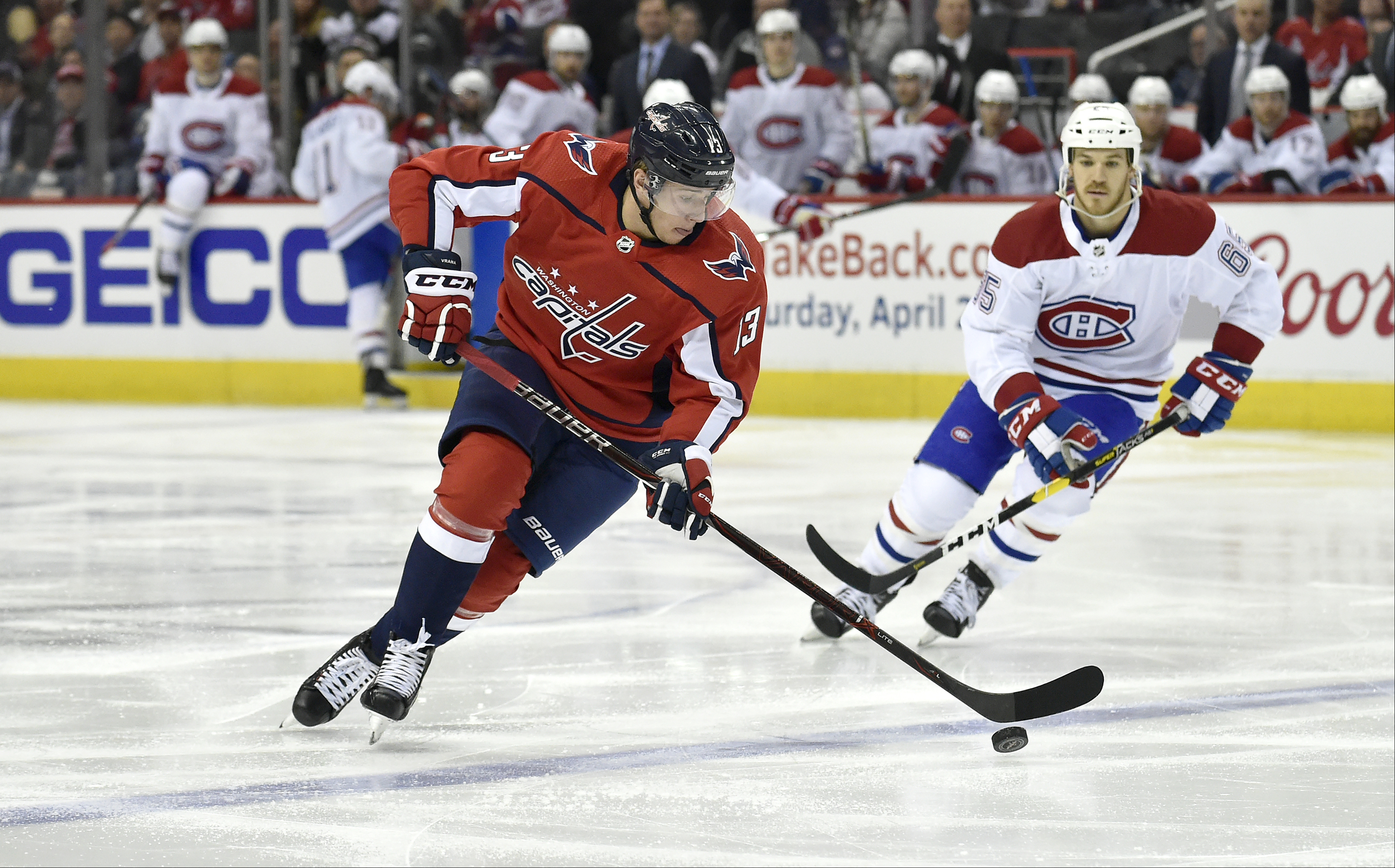 NHL: APR 04 Canadiens at Capitals