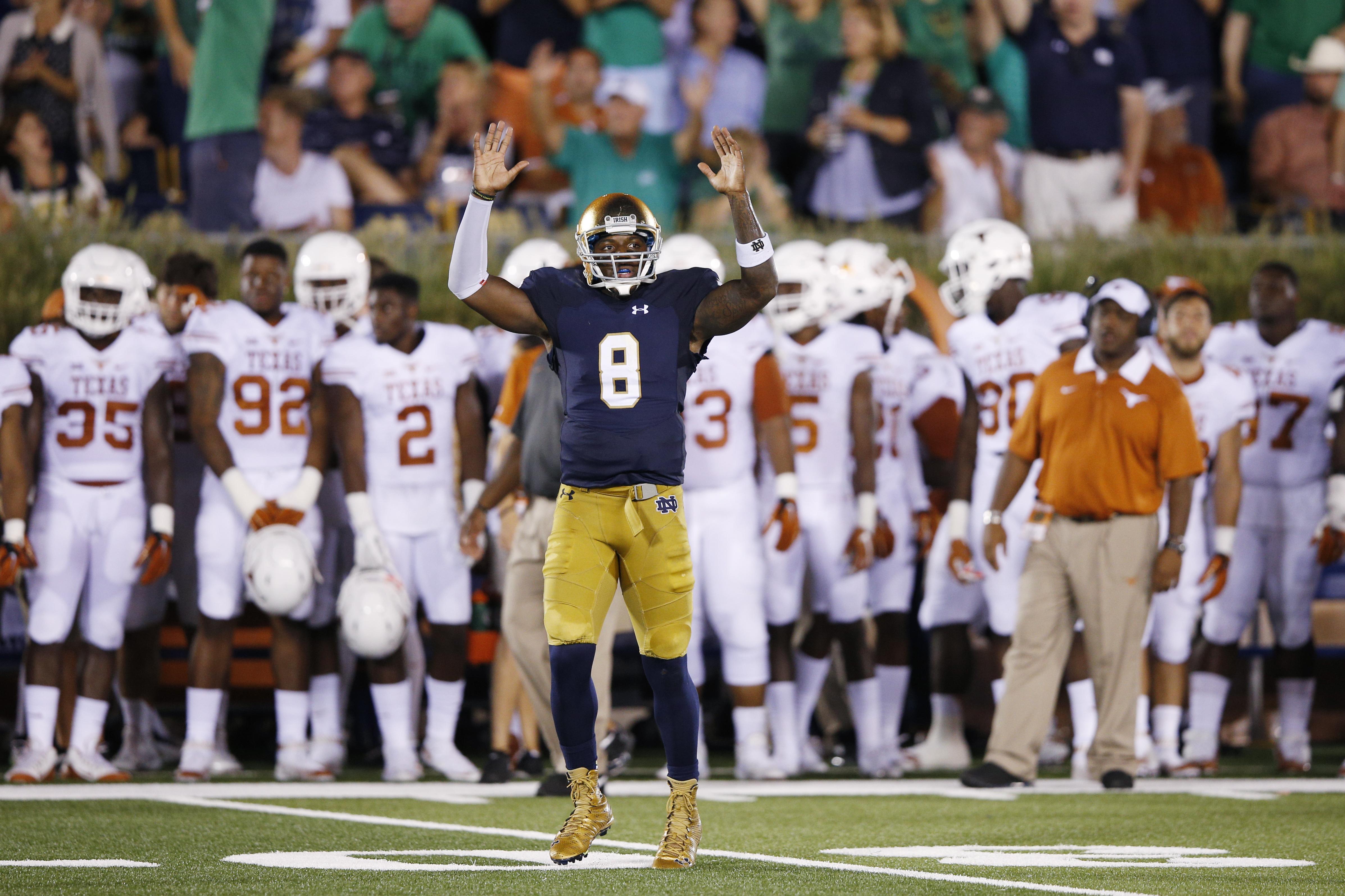 Texas v Notre Dame