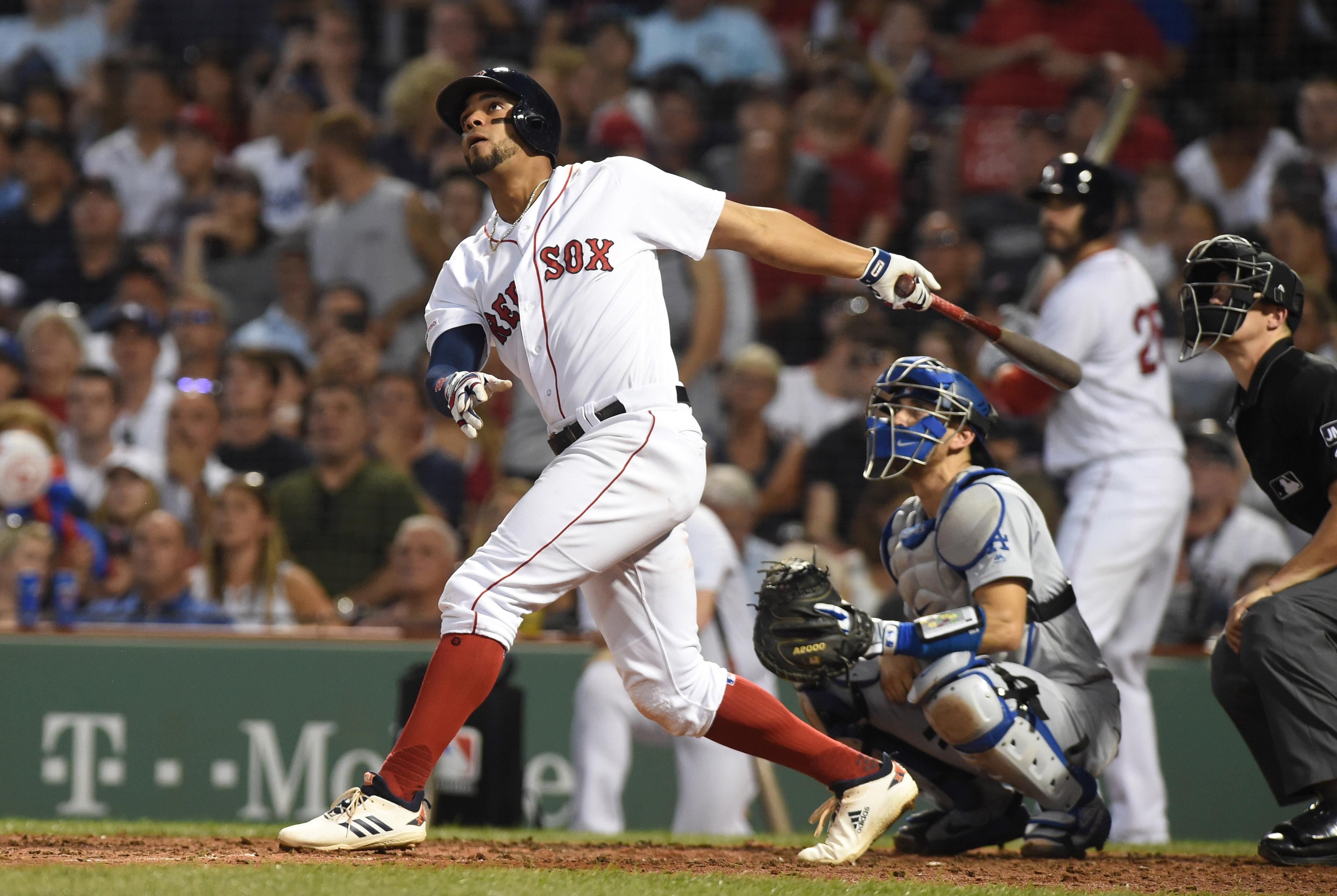 MLB: Los Angeles Dodgers at Boston Red Sox