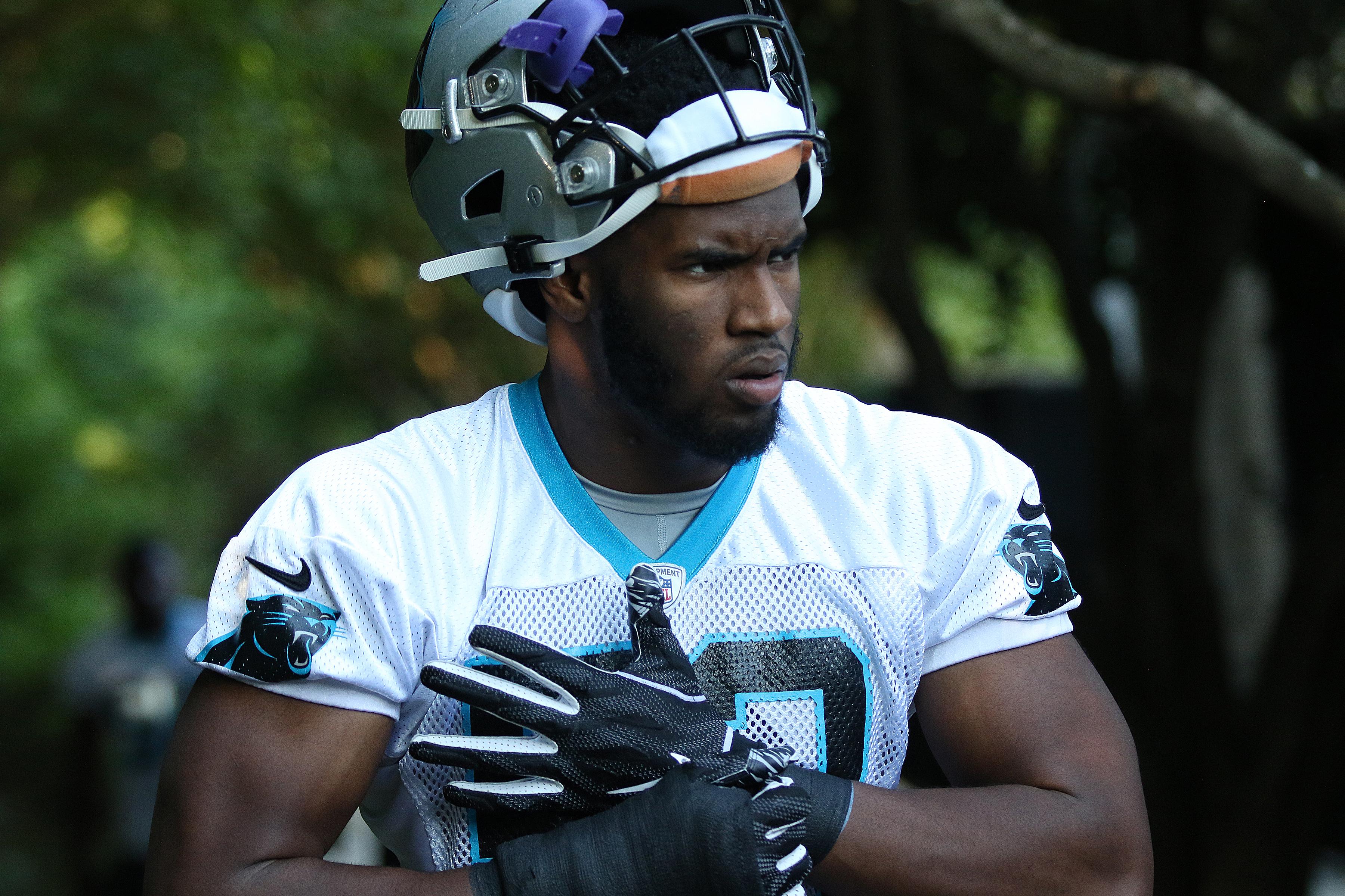 NFL: MAY 28 Carolina Panthers OTA