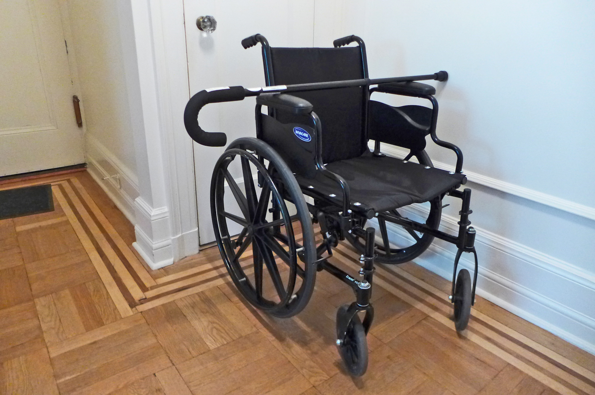 In a Wheelchair and Hungry