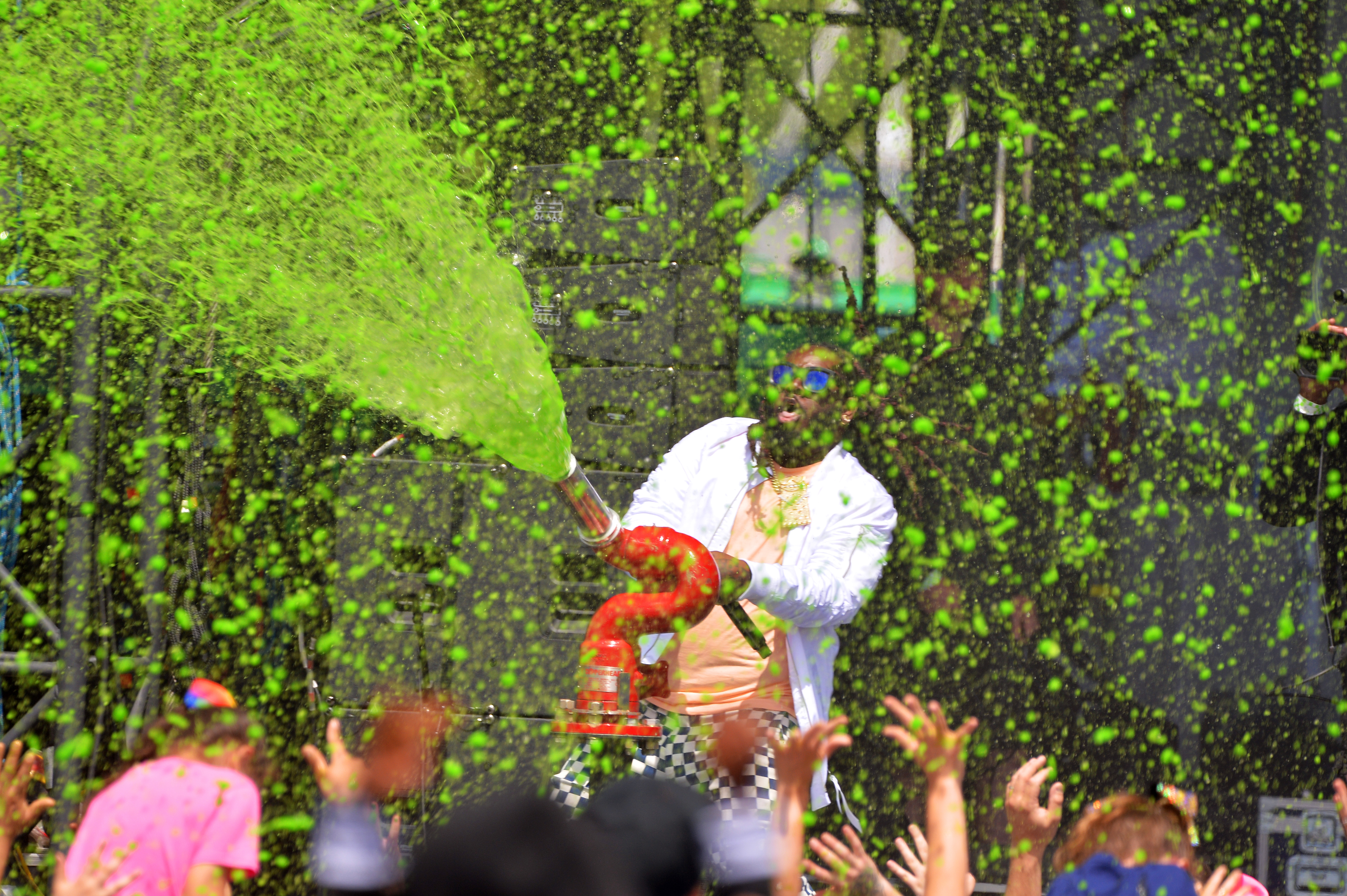 Nickelodeon's Second Annual SlimeFest At Huntington Bank Pavilion In Chicago - Show