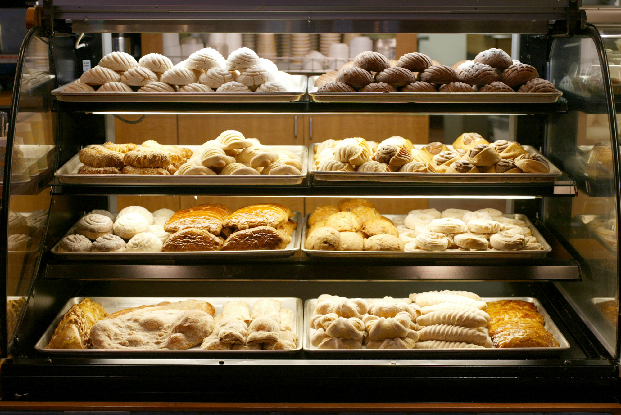 The story is about the best Latino bakeries around town. They specialize in pan dulce – sweet bread