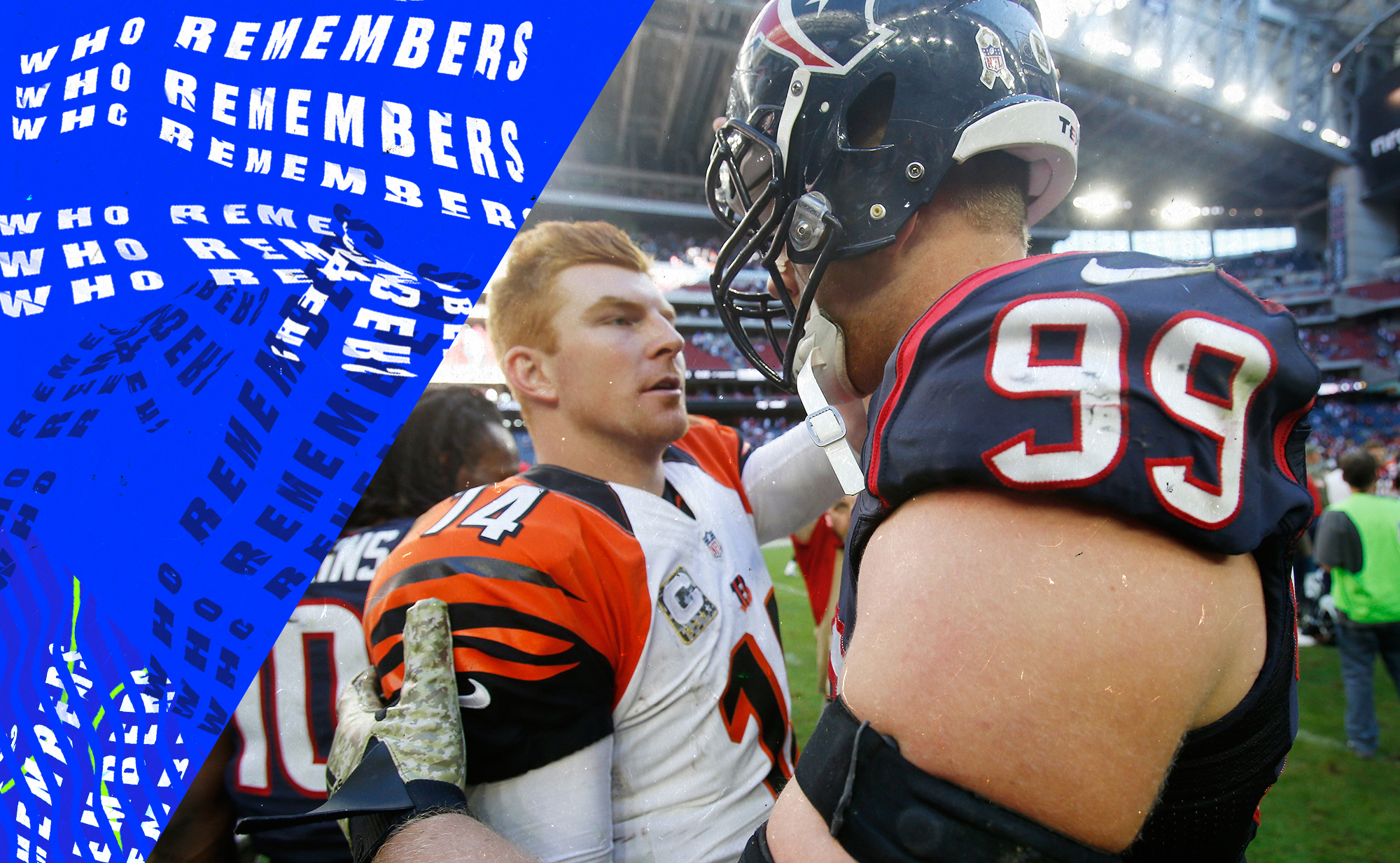J.J. Watt made fun of Andy Dalton's nickname and created the most pointless NFL beef ever