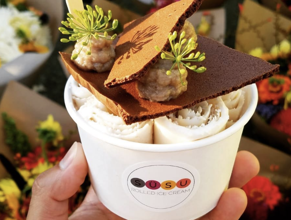Popular Rolled Ice Cream Purveyor Plans a Permanent Spot in the International District