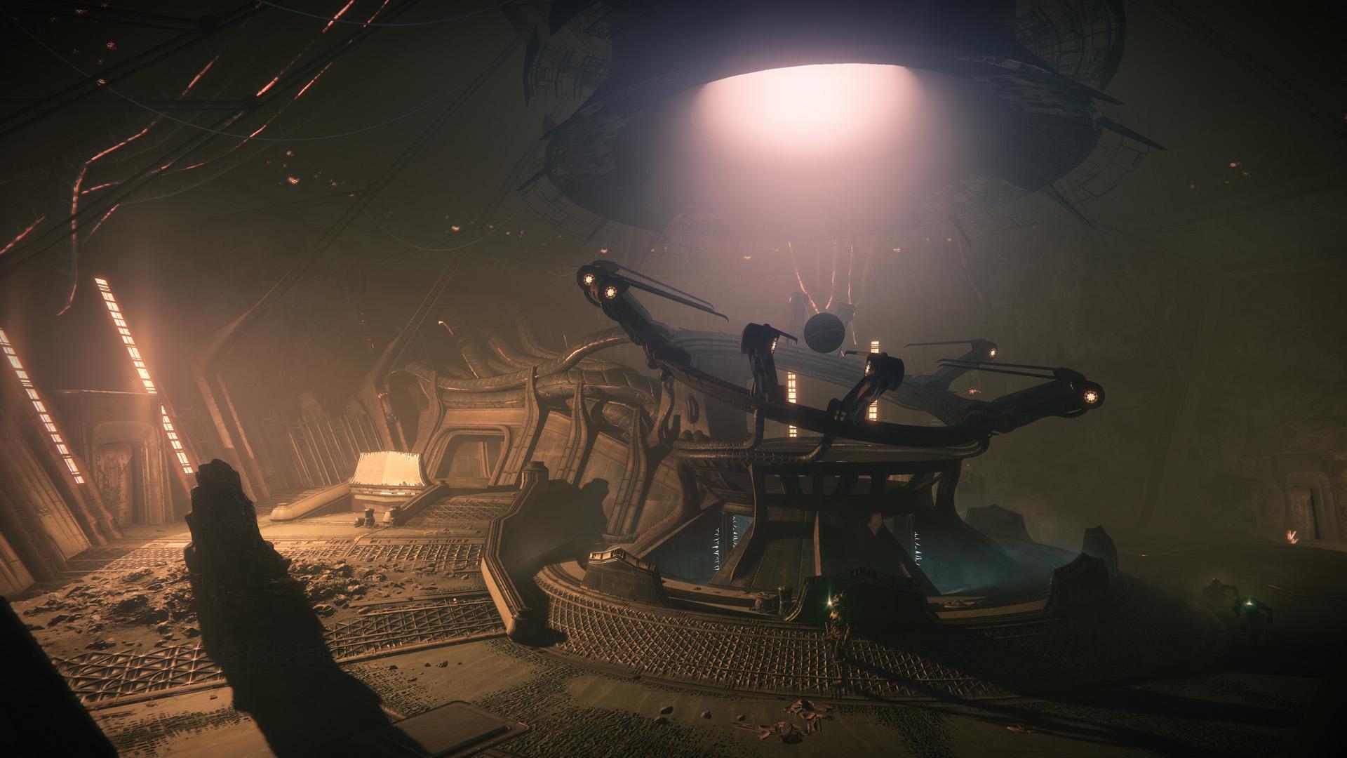Destiny 2: Shadowkeep - a bunker on the Moon