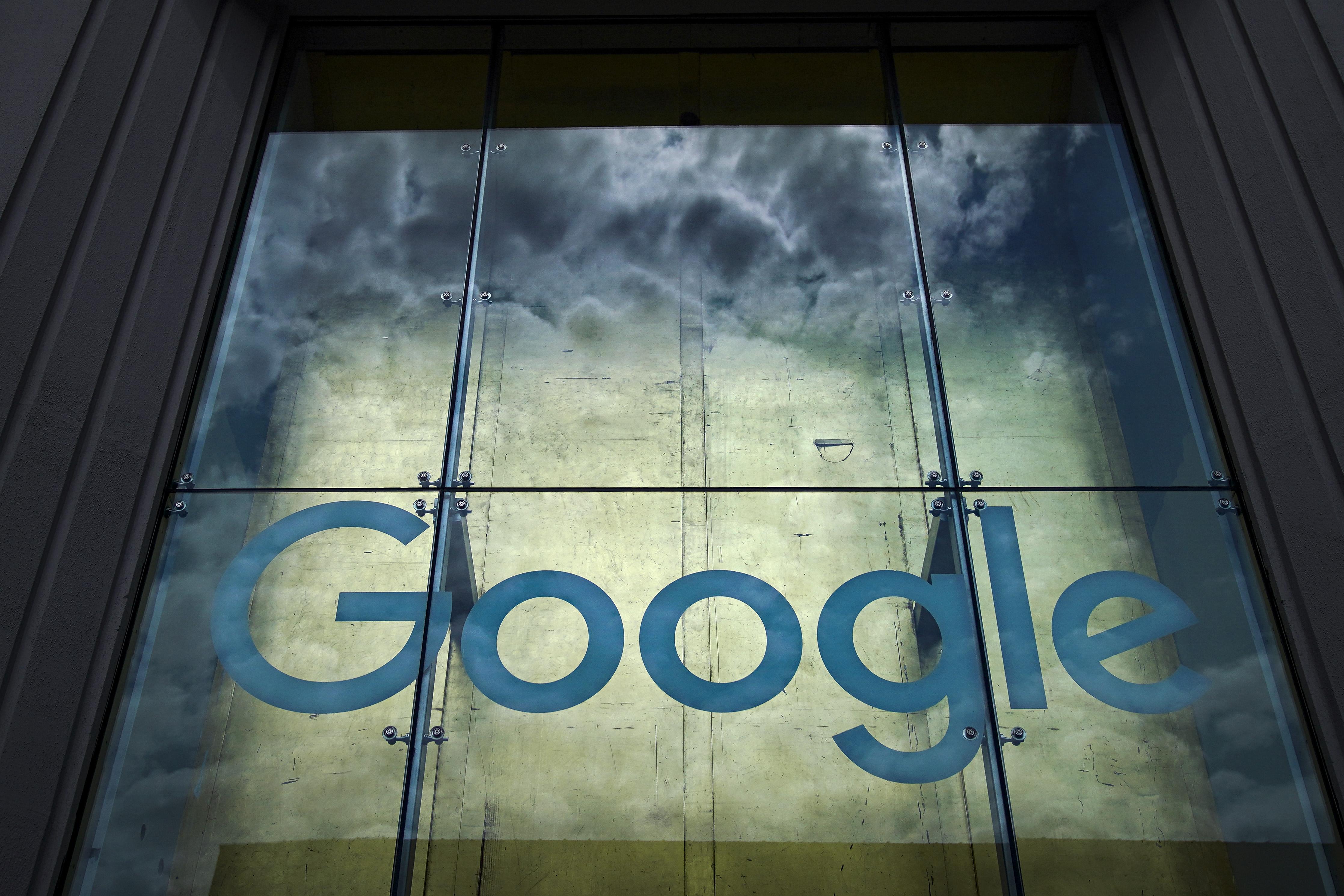 Google logo during Halloween.